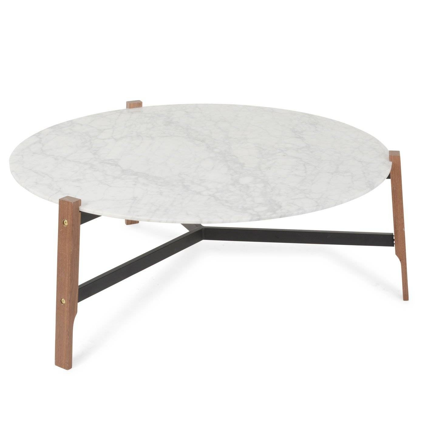 Blu Dot Free-Range Coffee Table In Marble in White Marble Coffee Tables (Image 4 of 30)
