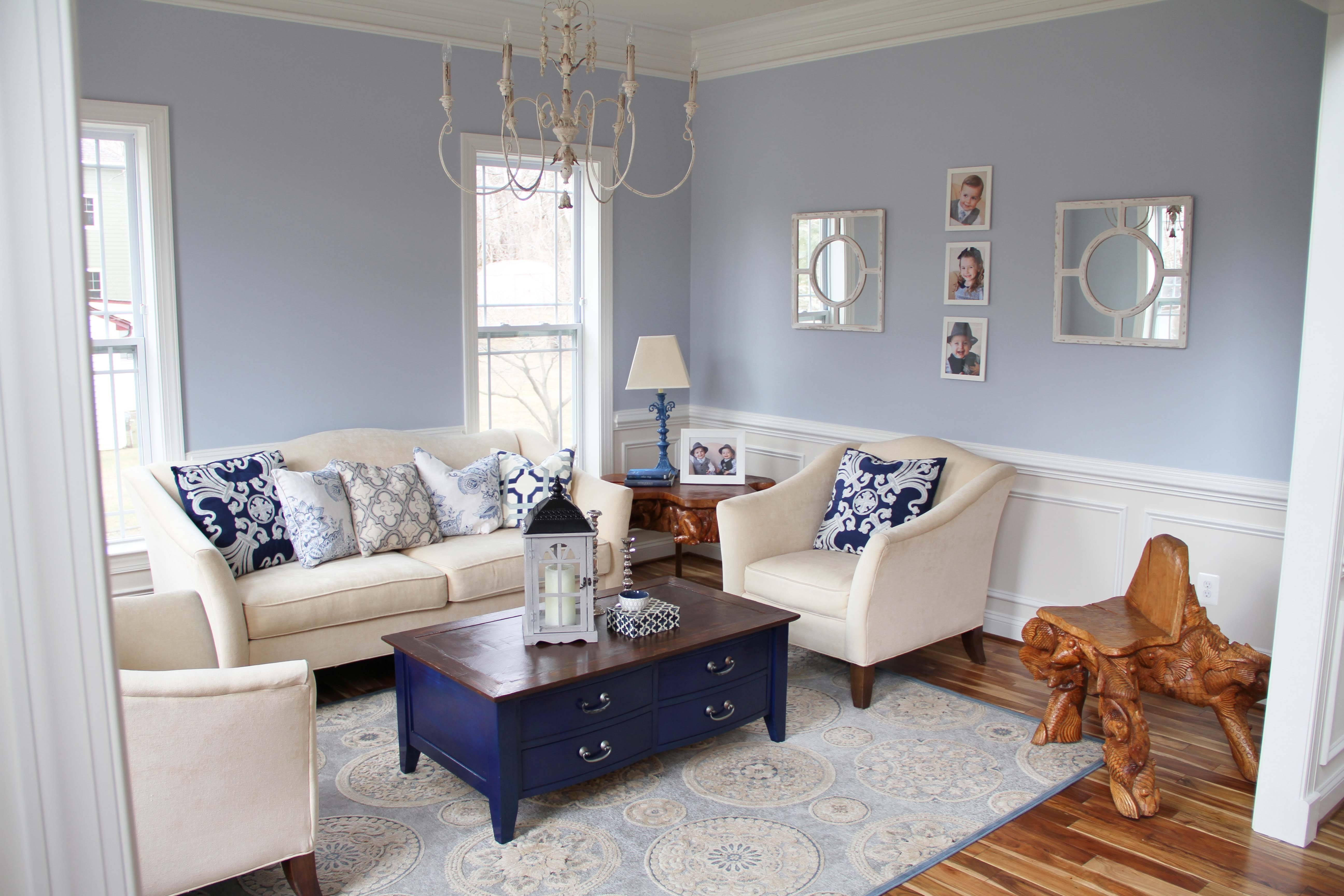 Blue Living Room Navy Coffee Table | Put That On Your Blog within Blue Coffee Tables (Image 5 of 30)