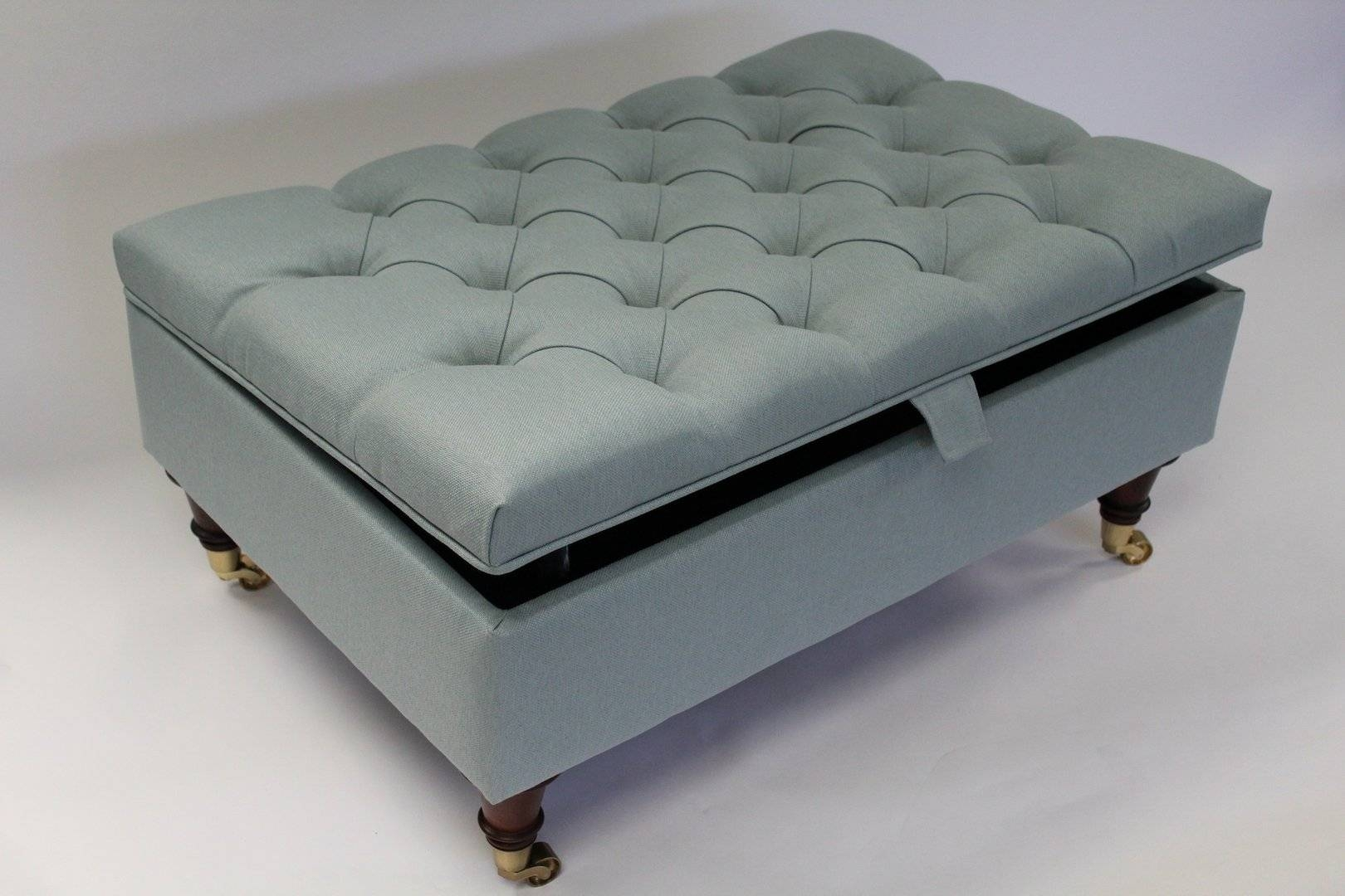 Blue Ottoman Coffee Table | Timconverse inside Blue Coffee Tables (Image 6 of 30)