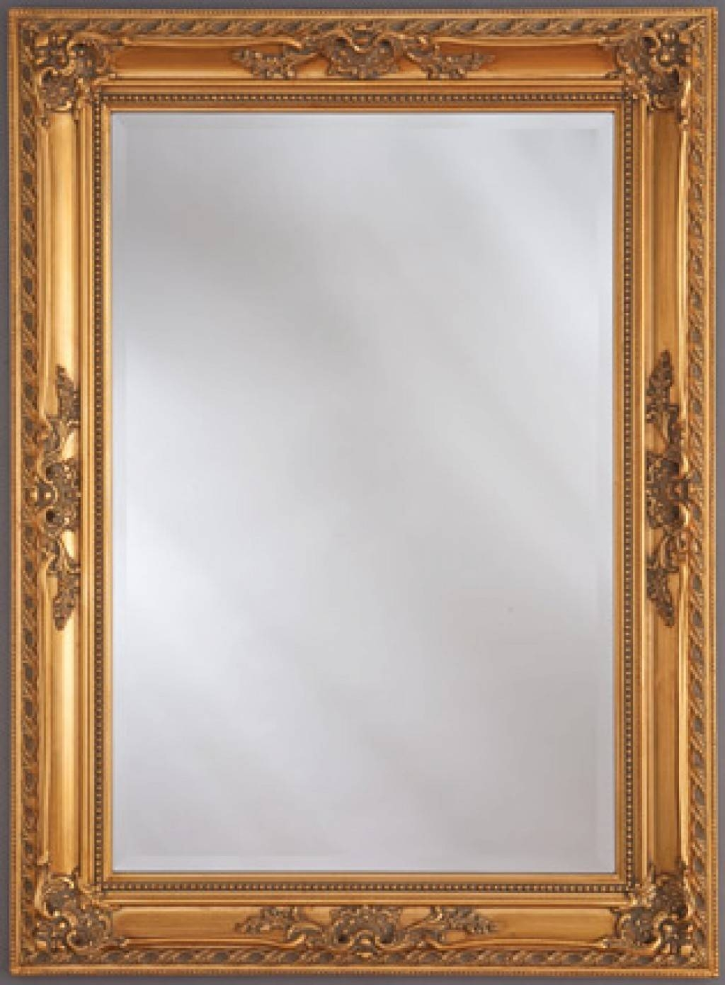 Bm 106 Antique Gold - Buy A Mirror Uk pertaining to Gold Antique Mirrors (Image 9 of 25)