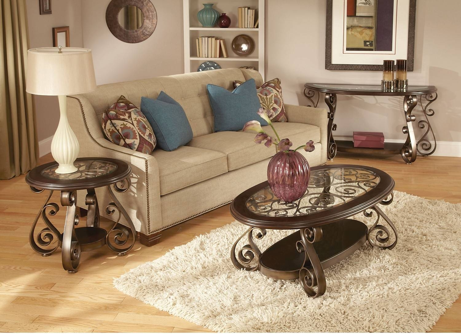 Bombay 3-Piece Coffee, End And Sofa Table Package | United pertaining to Bombay Coffee Tables (Image 4 of 30)