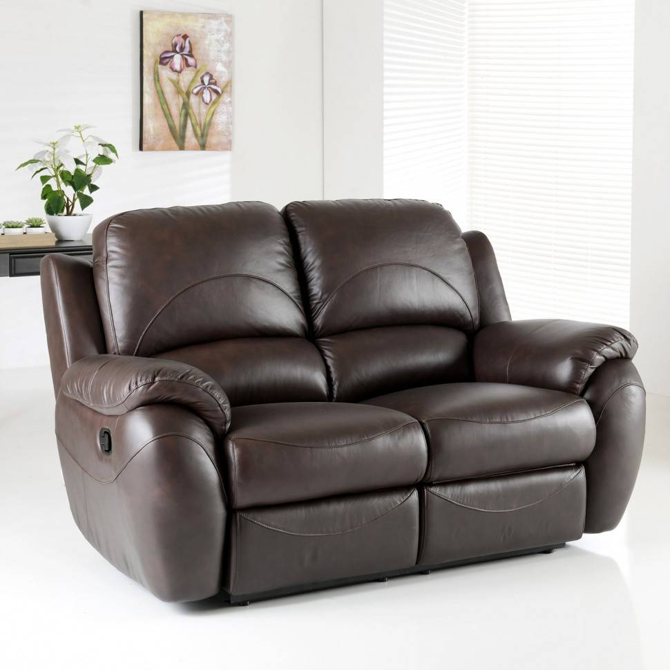 Bonded Leather Sofa – Helpformycredit Throughout 2 Seater Recliner Leather Sofas (View 3 of 30)