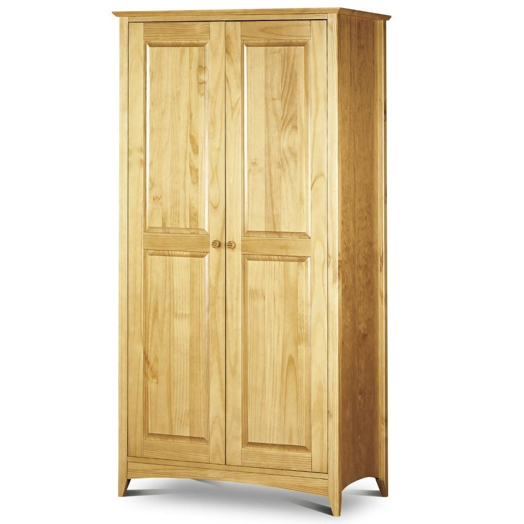 Bowen Kendal 2 Door Wardrobe Pine intended for Julian Bowen Wardrobes (Image 1 of 15)