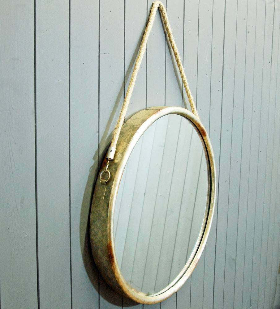 Bowley & Jackson Circular Porthole Design Wall Mirror Bowley & Jackson for Porthole Wall Mirrors (Image 6 of 25)