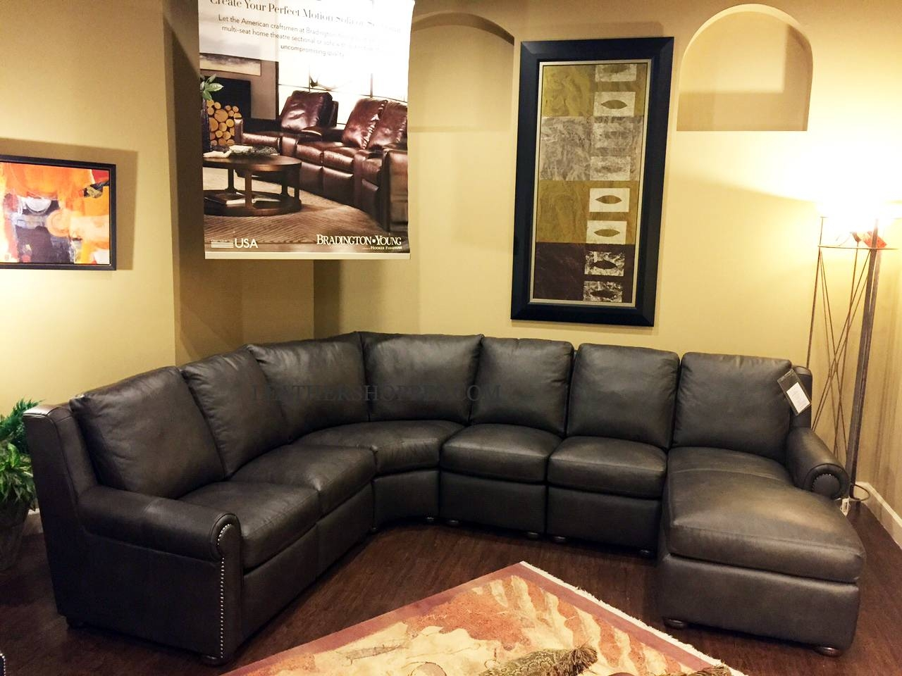 Bradington-Young Luxury Motion Furniture-Made In The Usa with regard to Motion Sectional Sofas (Image 2 of 30)