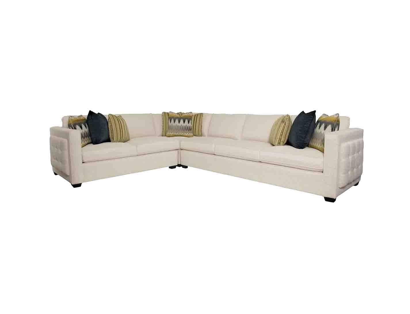 Bradley Sectional Sofa - Leather Sectional Sofa with Bradley Sectional Sofa (Image 11 of 30)
