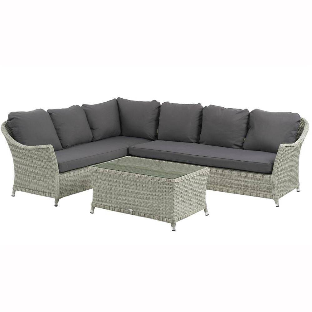 Bramblecrest Monterey Modular Sofa Set With Rectangular Coffee inside Monterey Coffee Tables (Image 4 of 30)