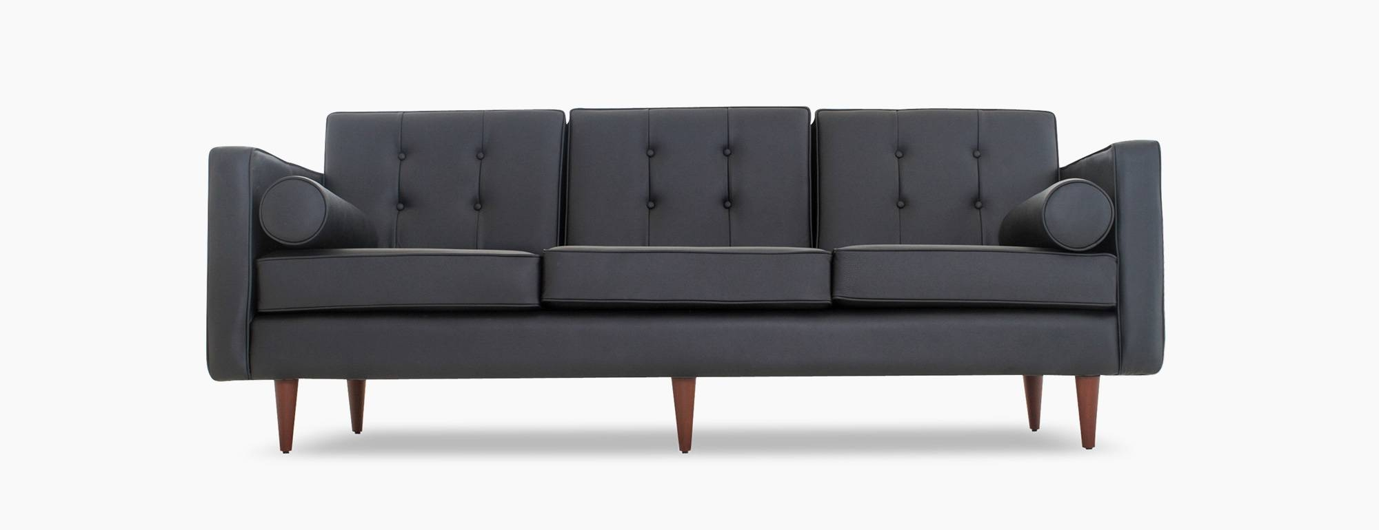 Braxton Leather Sofa | Joybird intended for Braxton Sofa (Image 7 of 30)