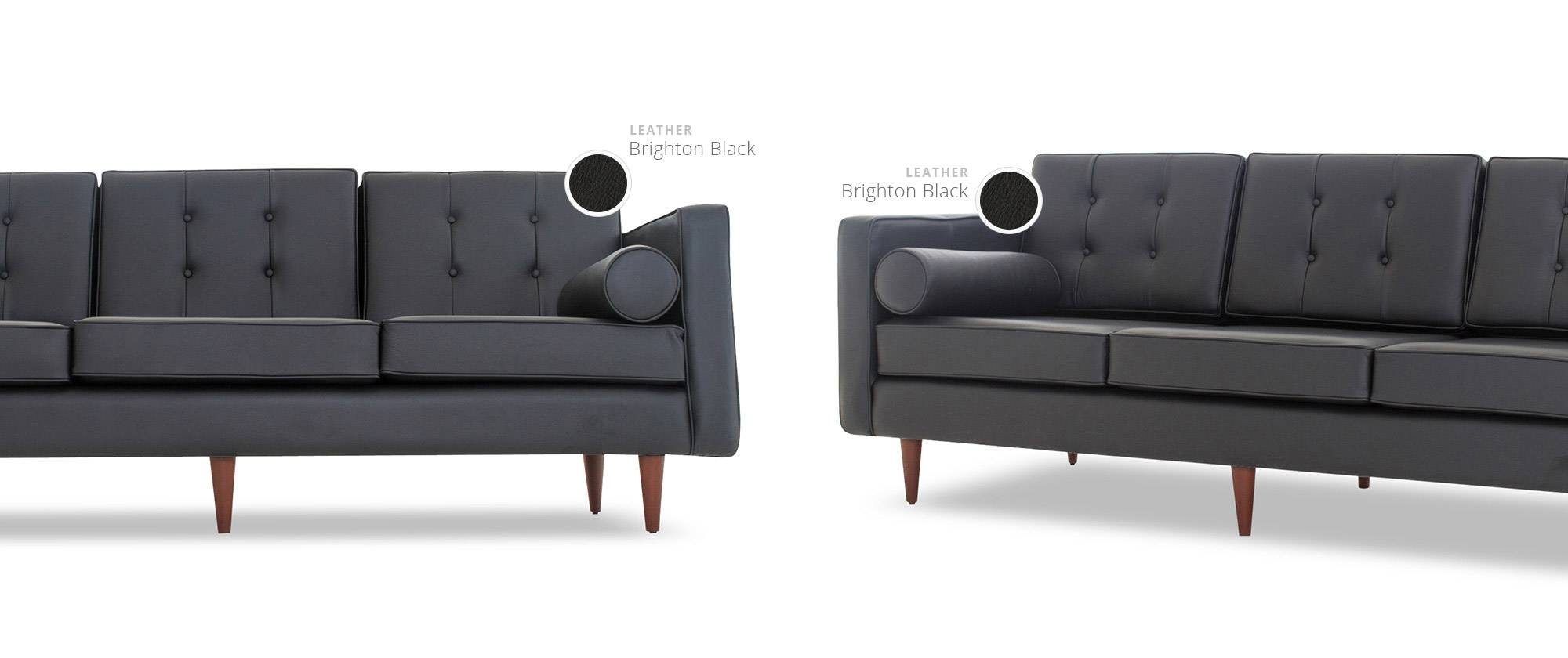 Braxton Leather Sofa | Joybird with regard to Braxton Sofa (Image 8 of 30)