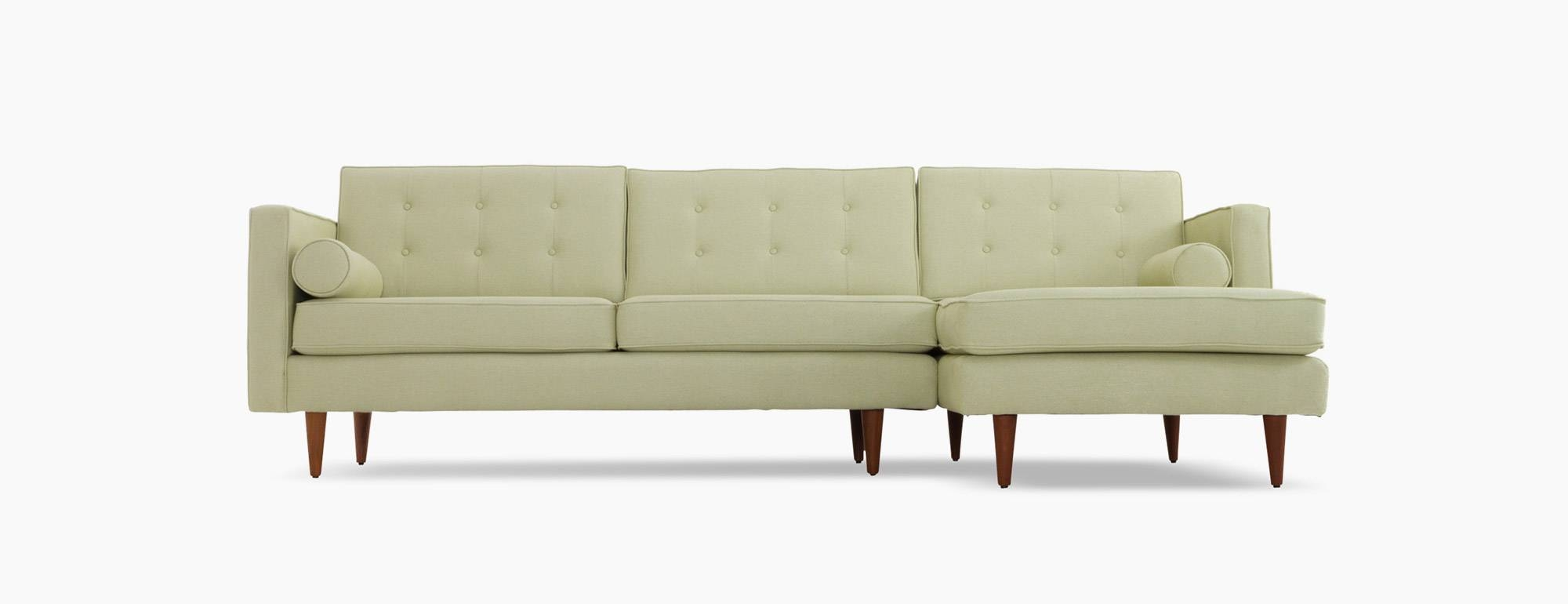 Braxton Sectional | Joybird intended for Braxton Sectional Sofa (Image 15 of 30)