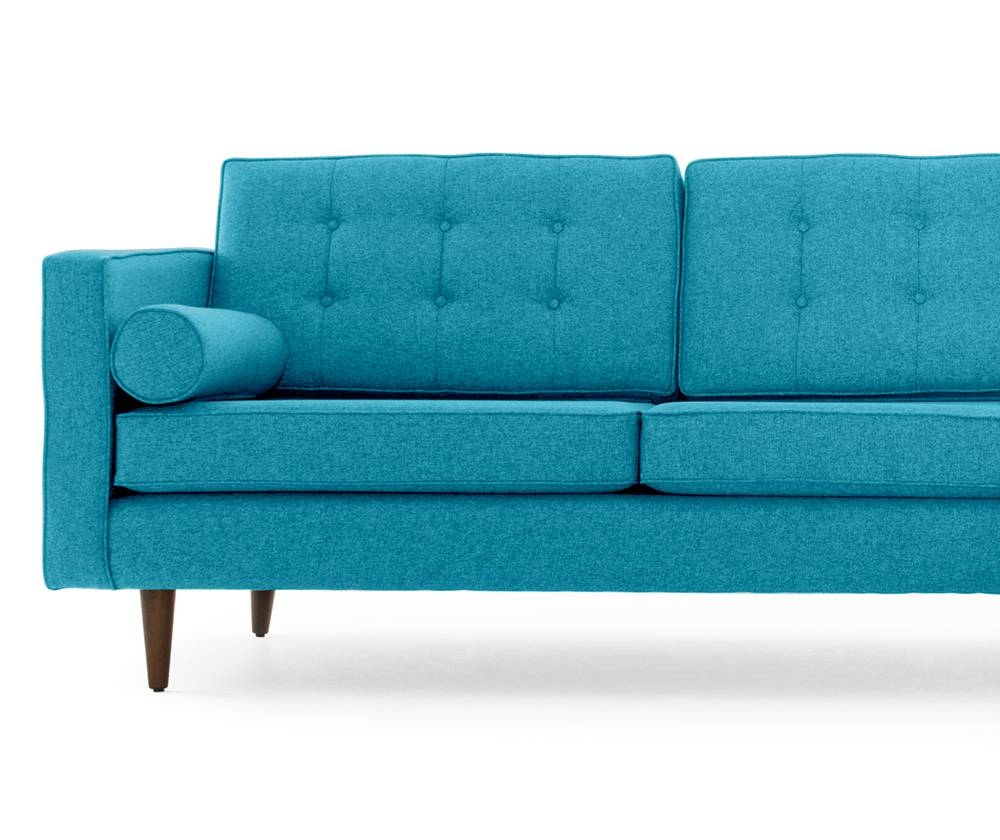 Braxton Sectional With Bumper | Joybird intended for Braxton Sofa (Image 11 of 30)