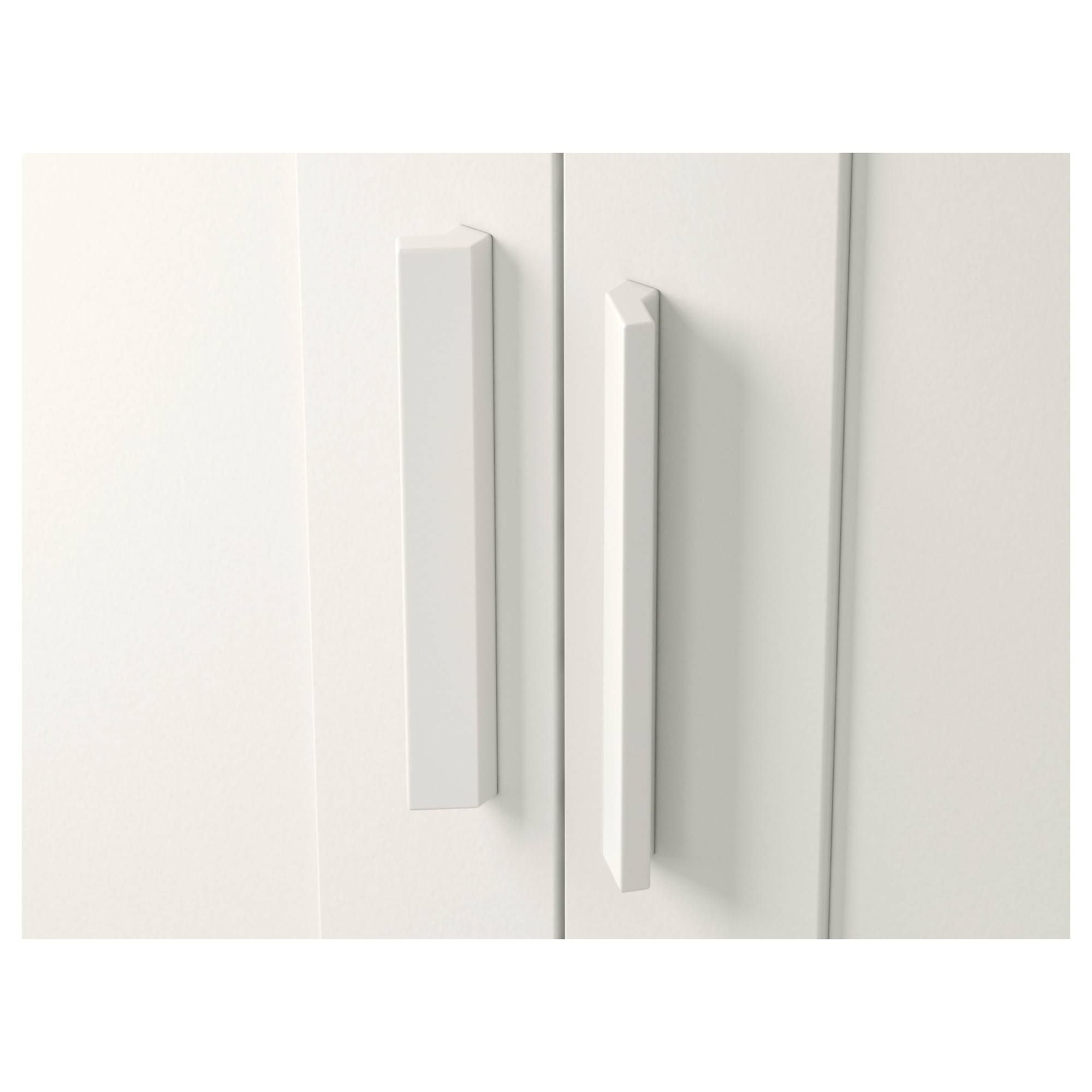 Brimnes Wardrobe With 2 Doors White 78X190 Cm - Ikea with regard to Two Door White Wardrobes (Image 1 of 15)