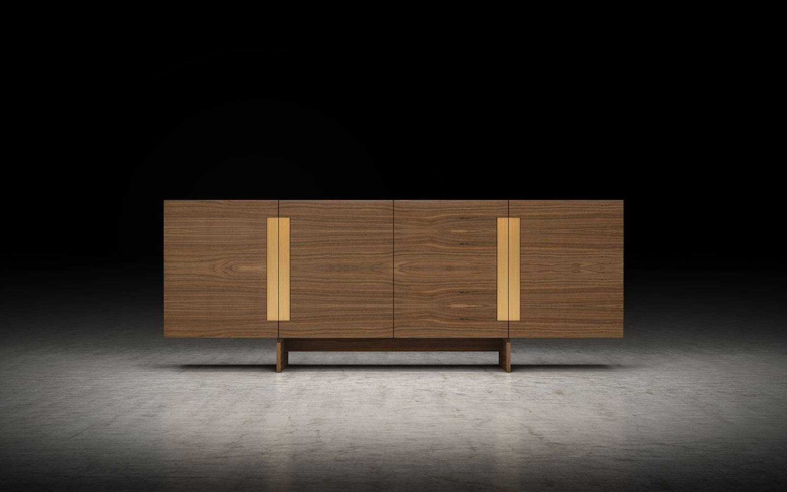 Brixton Modern Sideboard | Modloft for Modern Sideboard Furniture (Image 4 of 30)