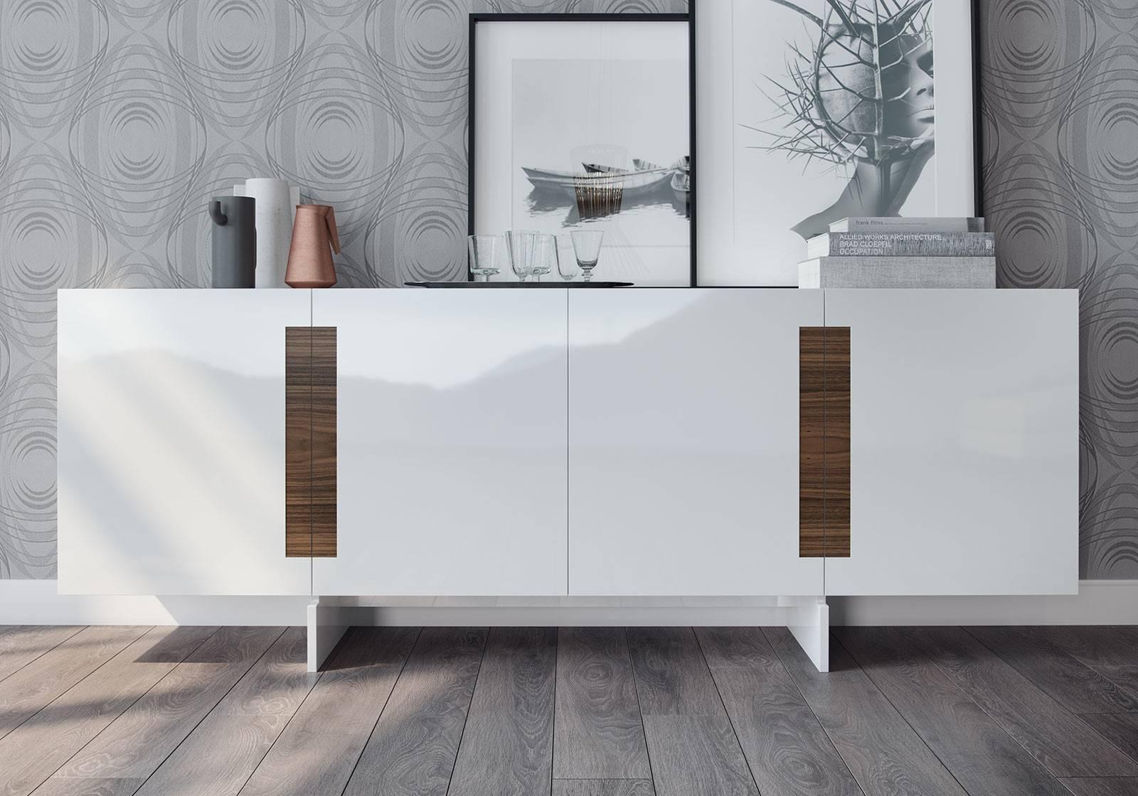 Brixton Sideboardmodloft | Modern Sideboards | Cressina throughout White Modern Sideboards (Image 3 of 30)