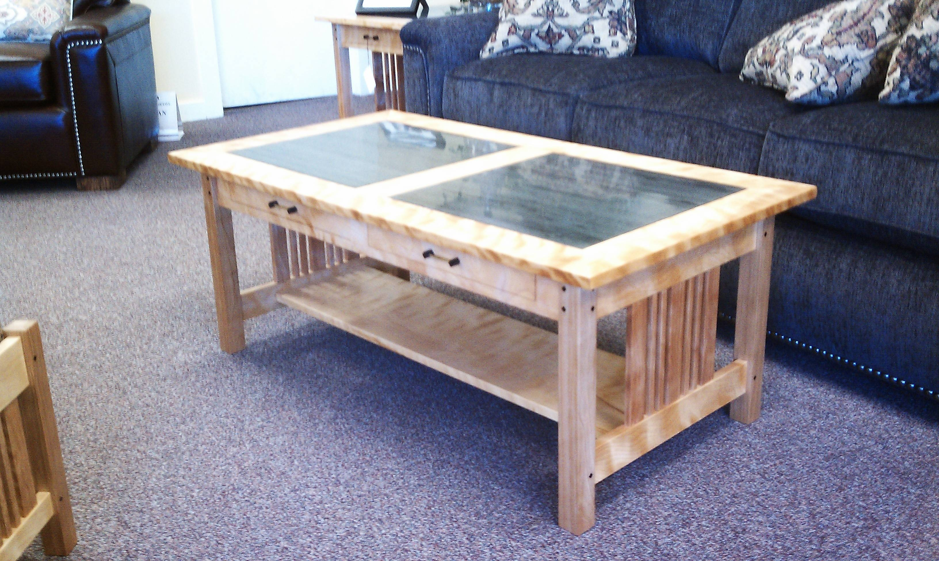 Brookside Woodworking - Things Are Picking Up. regarding Birch Coffee Tables (Image 3 of 30)