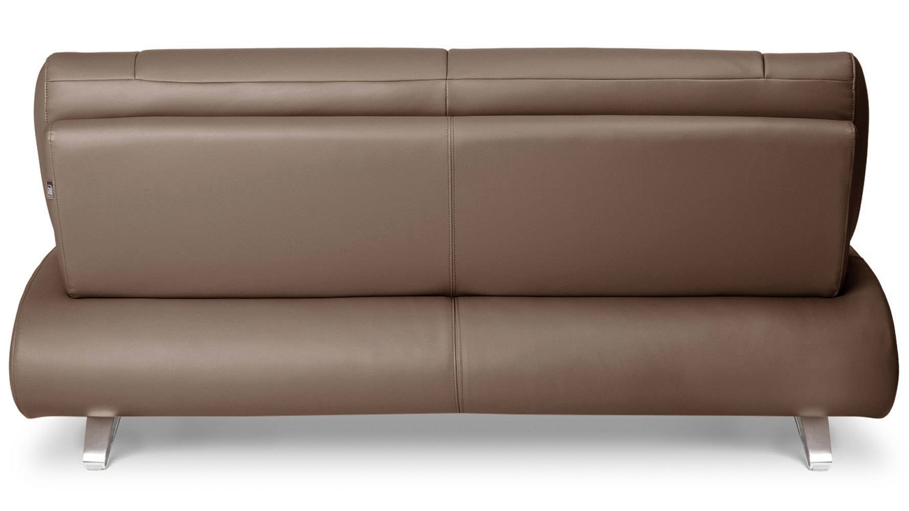 Brown Aspen Leather Sofa Set With Loveseat And Chair | Zuri Furniture intended for Aspen Leather Sofas (Image 15 of 30)