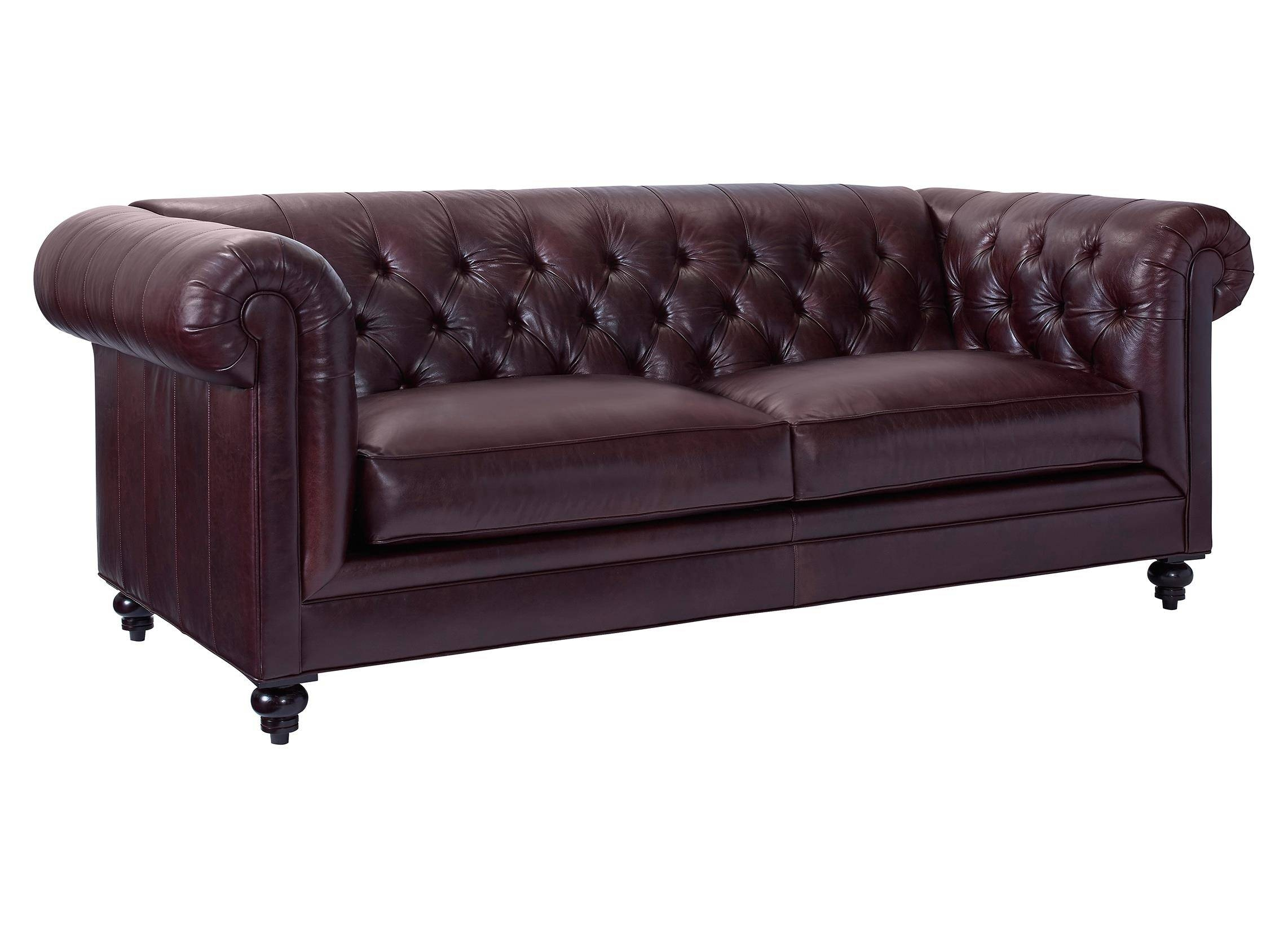 Broyhill Furniture Heath Traditional Chesterfield Sofa With Rolled with Broyhill Sectional Sofas (Image 5 of 30)