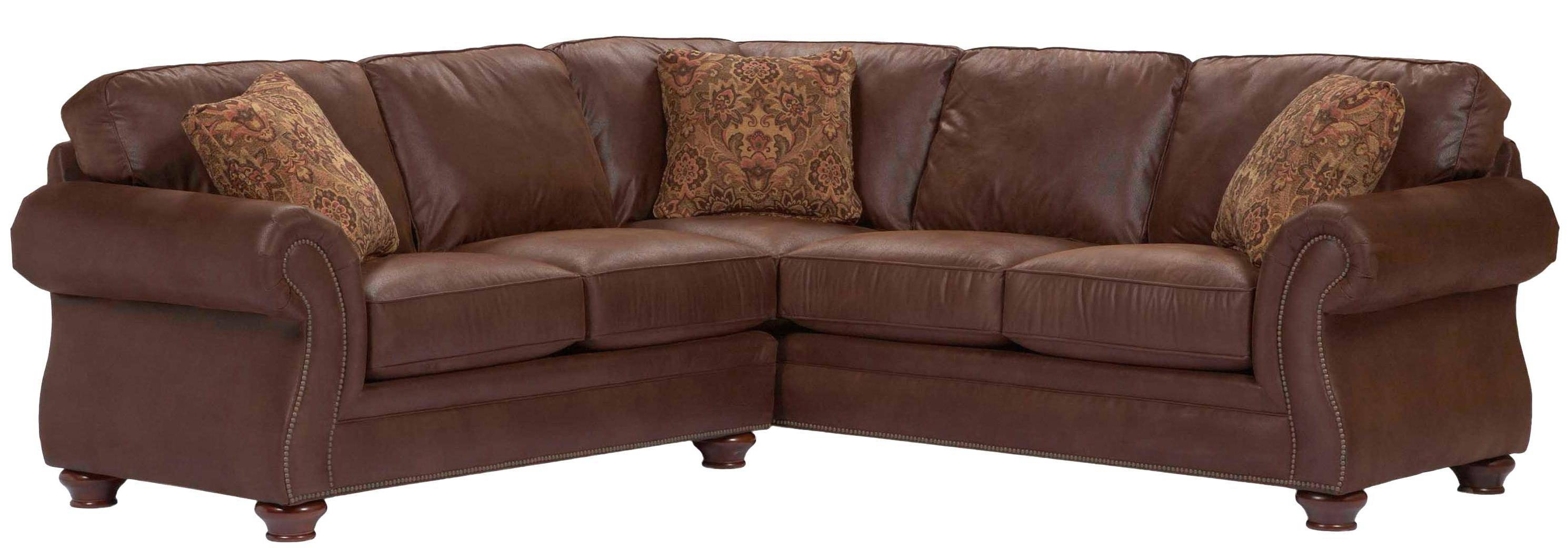 Broyhill Furniture Laramie 2 Piece Corner Sectional Sofa - Lindy's pertaining to Broyhill Sectional Sofas (Image 6 of 30)