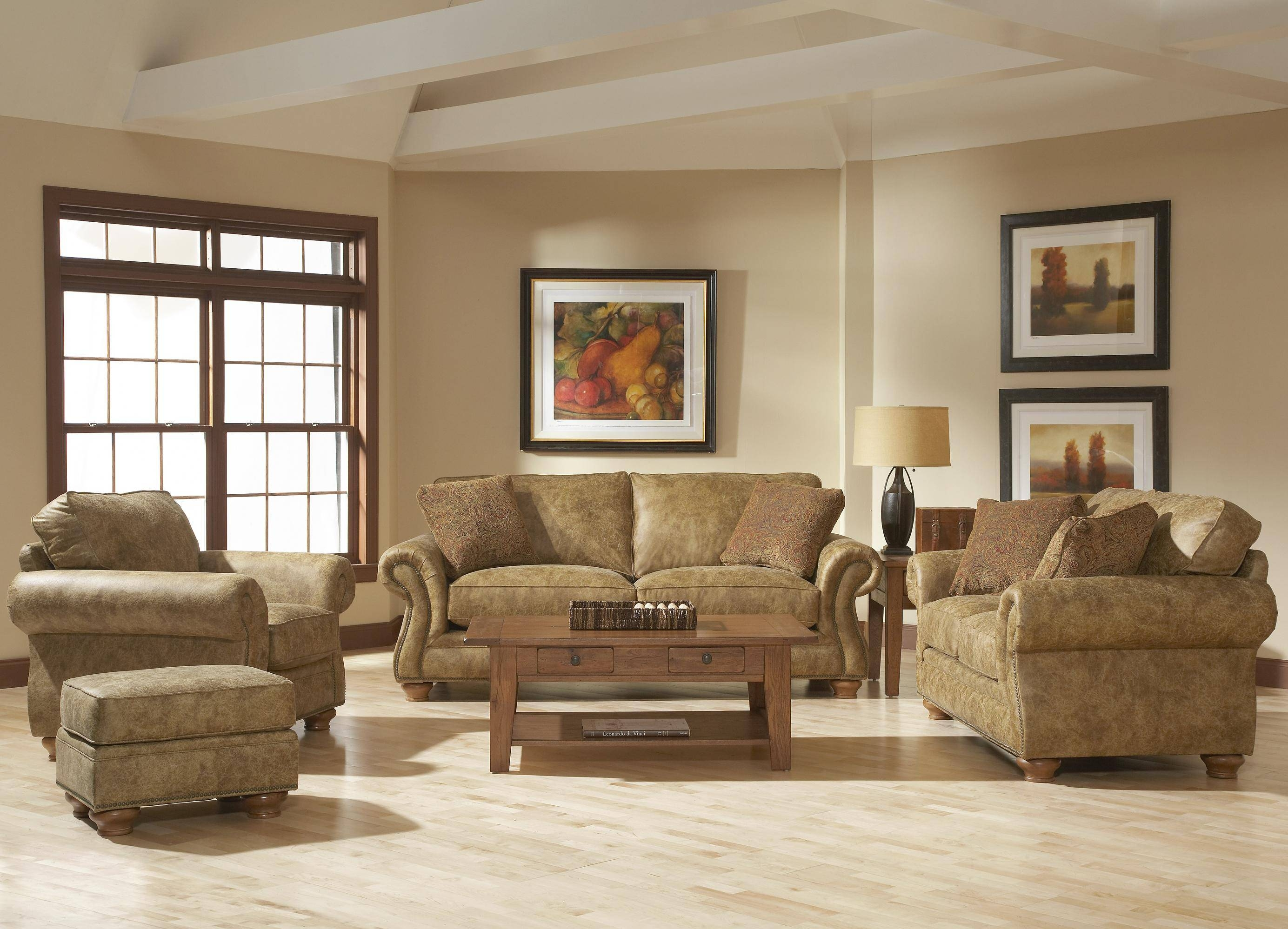 Broyhill Furniture Laramie 3 Piece Wedge Sectional Sofa - Wayside for Broyhill Sectional Sofa (Image 6 of 30)