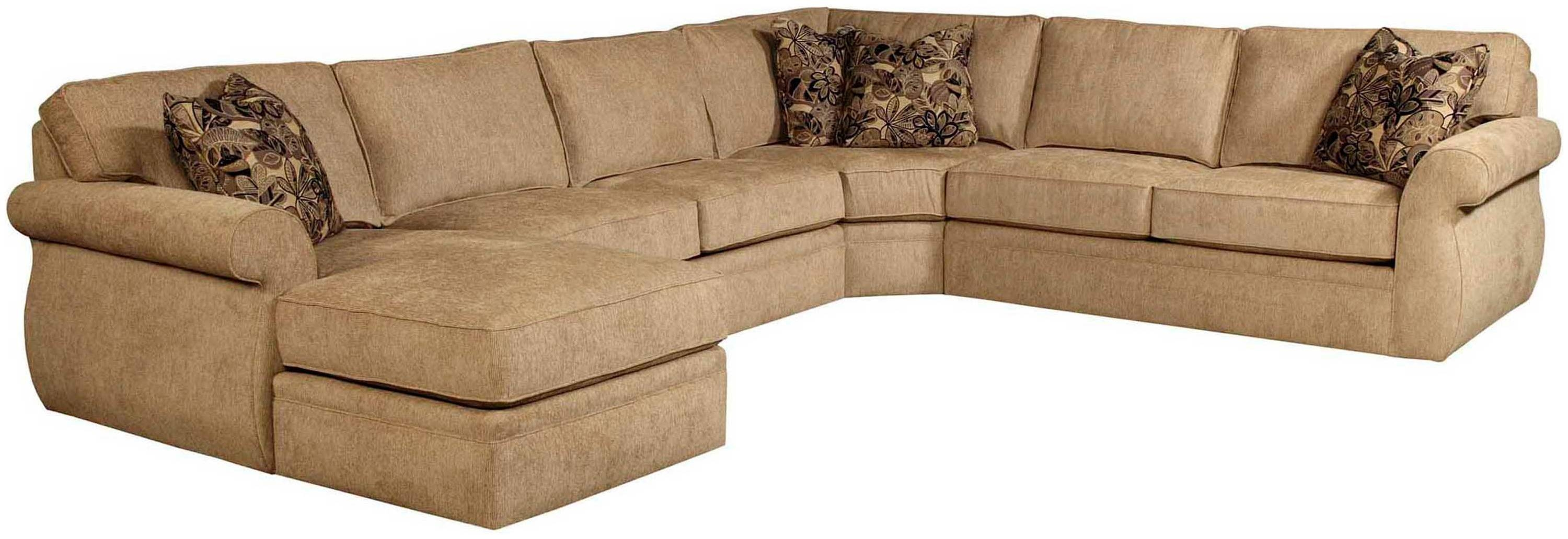 Broyhill Veronica 4Pc Chaise Sectional intended for Broyhill Sectional Sofas (Image 19 of 30)