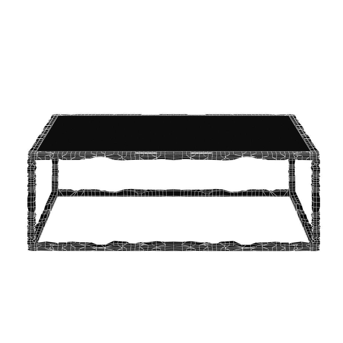 Bruno Romeda Bronze And Glass Coffee Table 3D Model Max Obj 3Ds within Bronze And Glass Coffee Tables (Image 6 of 30)