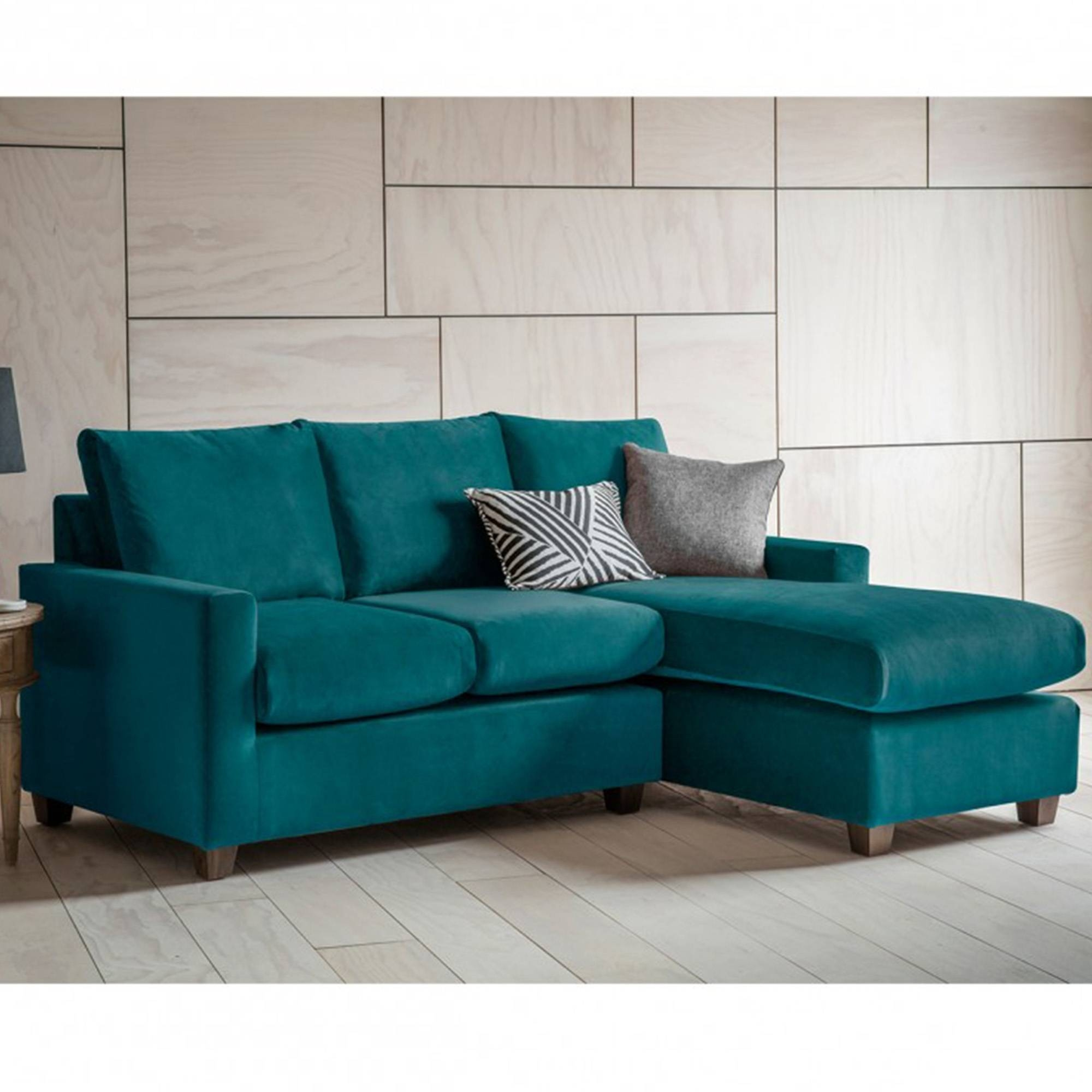 Brussels Petrol Stratford Lh Chaise Sofa | Seating Online From With Stratford Sofas (View 14 of 30)