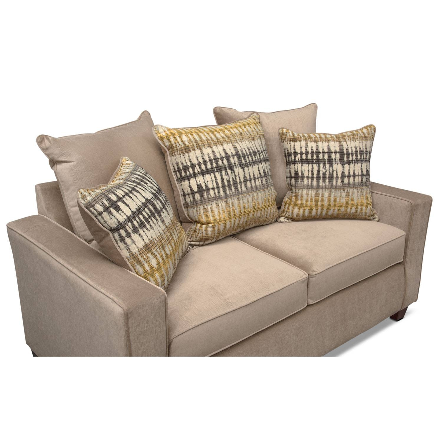 Bryden Sofa, Loveseat And Chair Set - Beige | Value City Furniture for Sofa Loveseat and Chairs (Image 5 of 30)