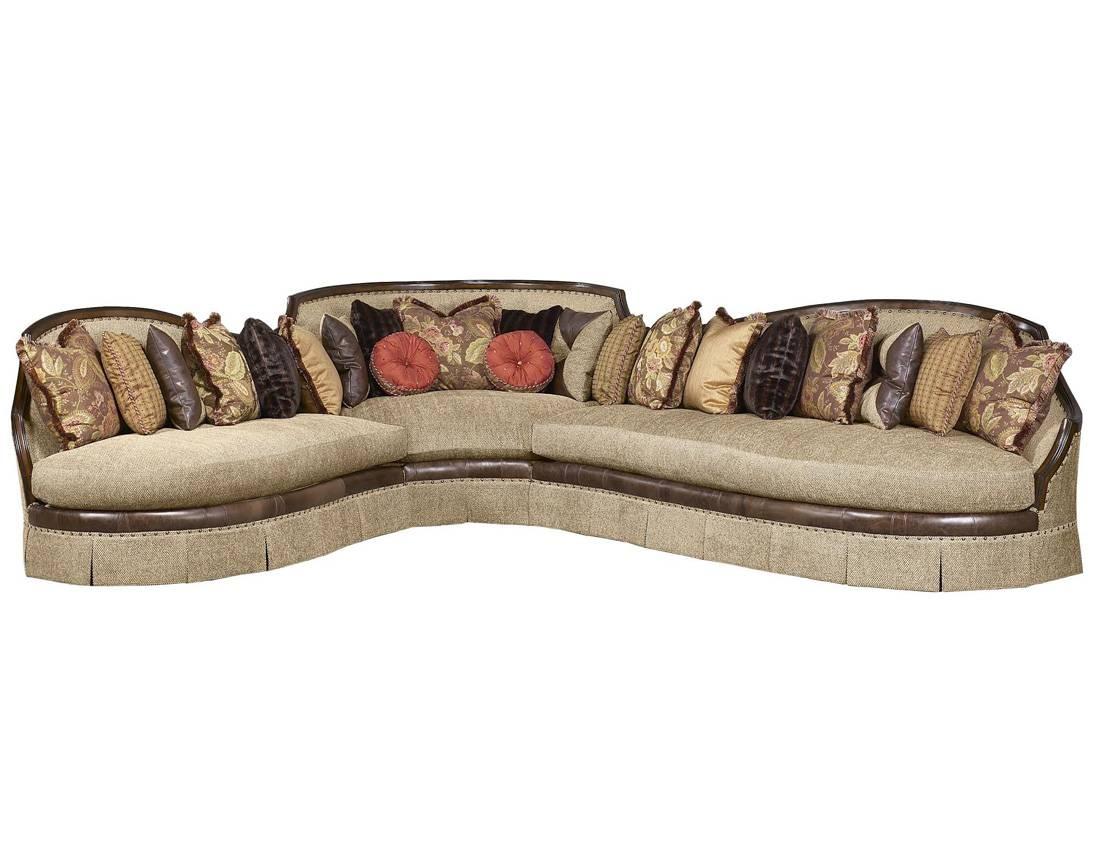 Bt 179 Italian Traditional Sectional Sofa | Traditional Sofas for Traditional Sectional Sofas (Image 4 of 25)