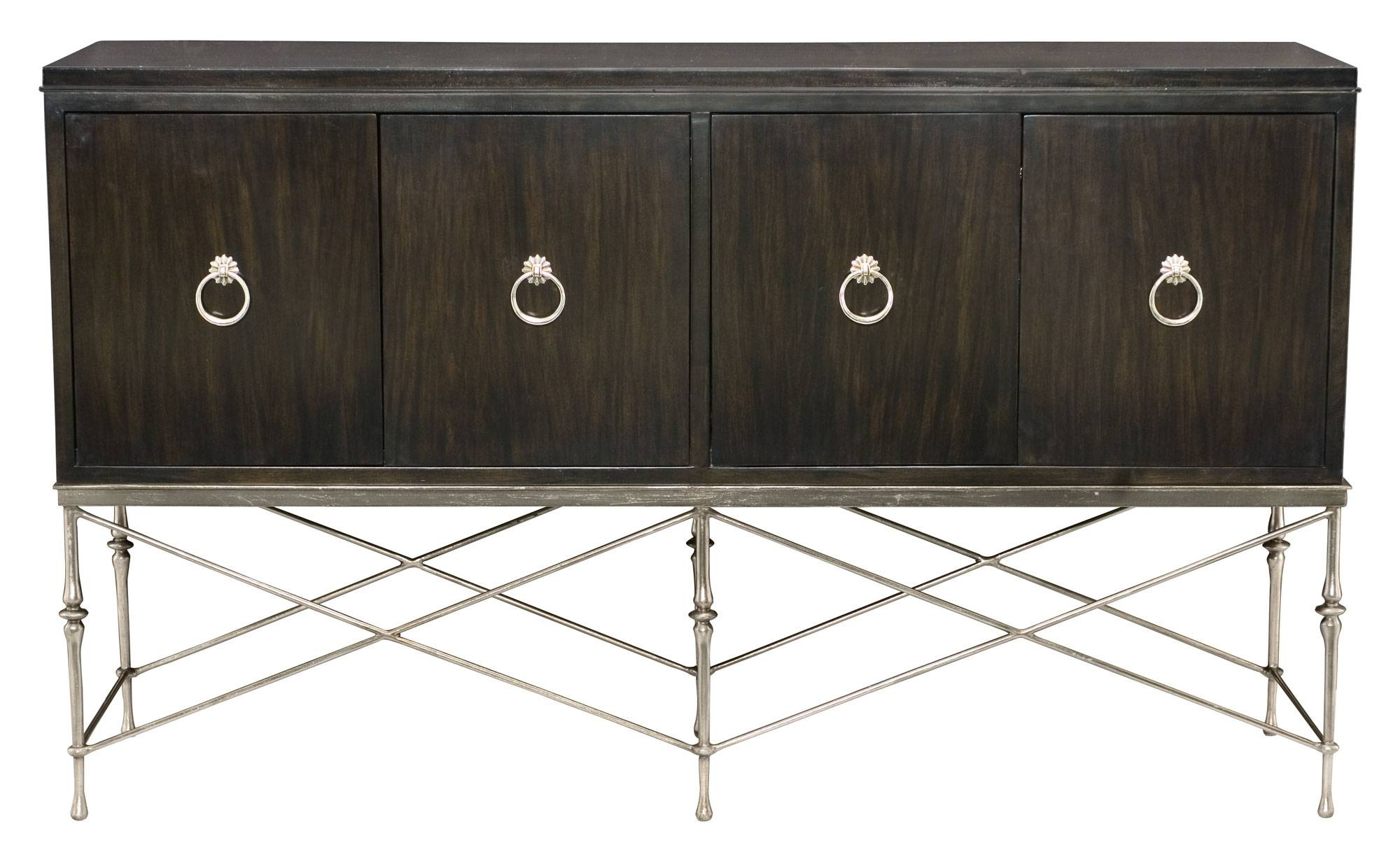 Buffet And Metal Base | Bernhardt intended for Metal Sideboard Furniture (Image 2 of 30)