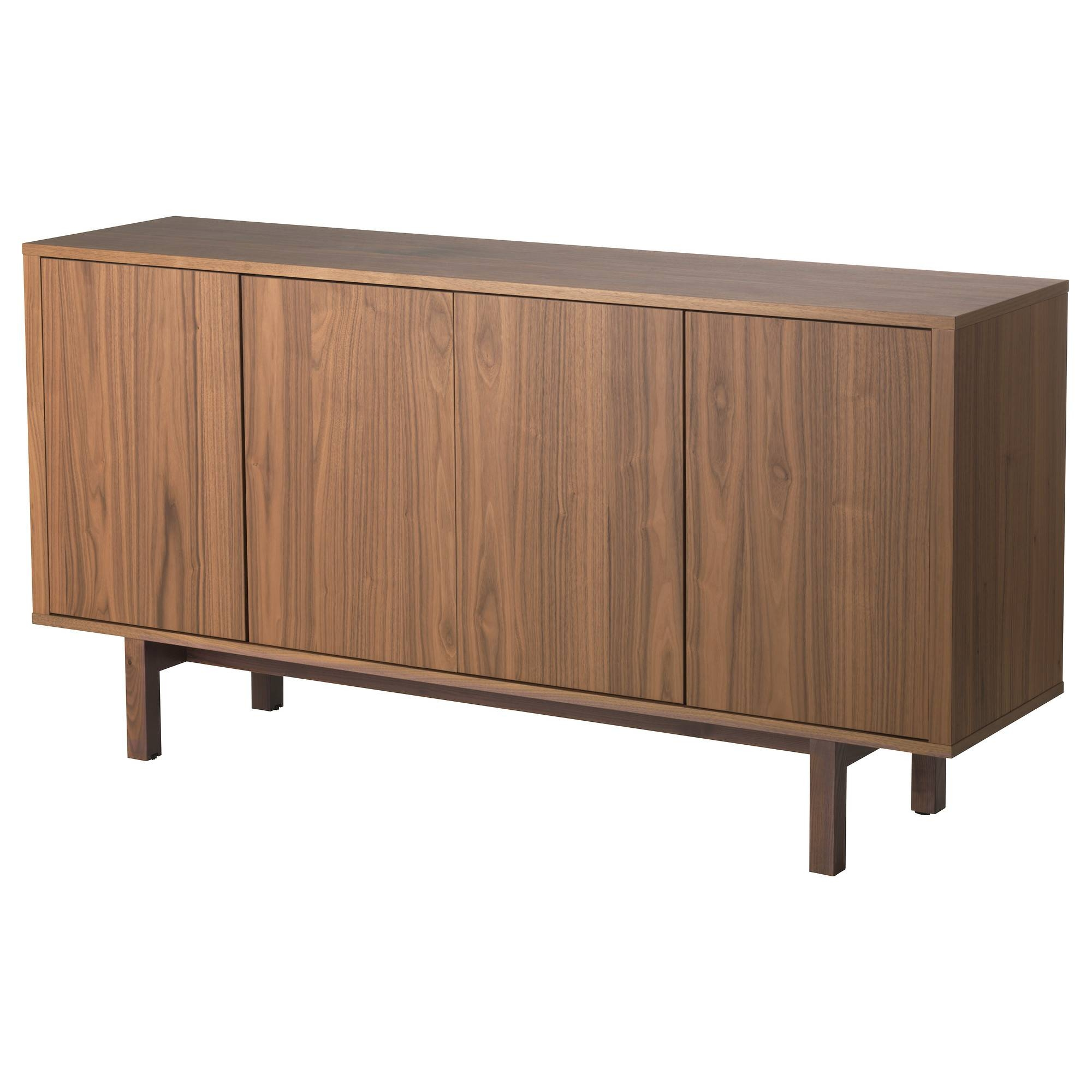 Buffet Tables & Sideboards - Ikea in Walnut and Black Sideboards (Image 5 of 30)