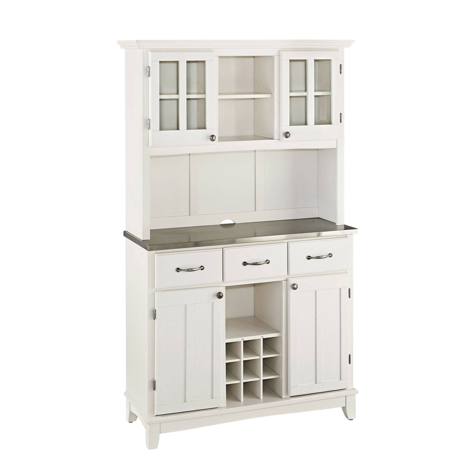 Buffets & Sideboards On Sale | Bellacor in White Glass Sideboards (Image 7 of 30)