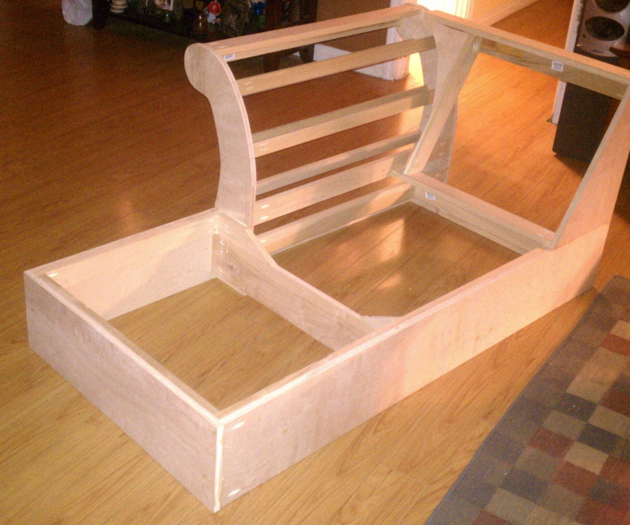 Build A Chaise Frame From Scratch: 5 Steps (With Pictures) within Diy Sofa Frame (Image 9 of 30)