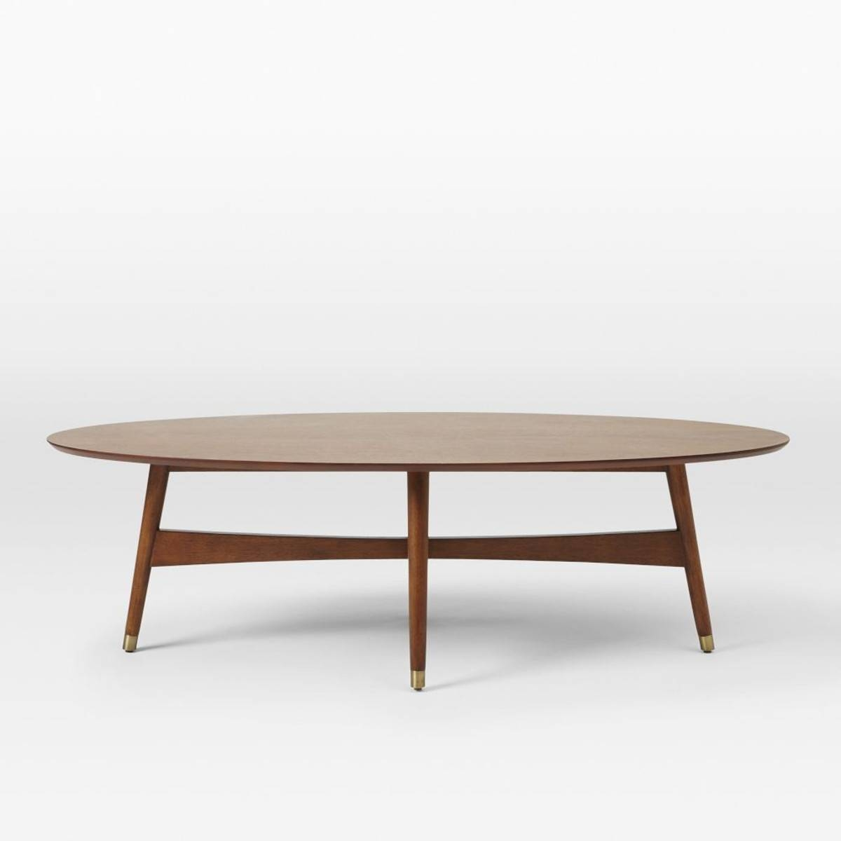 Build An Oval Wood Coffee Table with Oval Walnut Coffee Tables (Image 6 of 30)