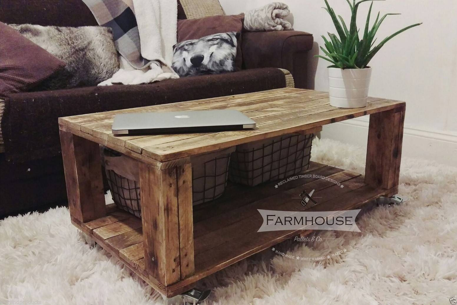 Build Wood Coffee Table - Gallery Image Imgpudocs inside Chunky Rustic Coffee Tables (Image 4 of 30)