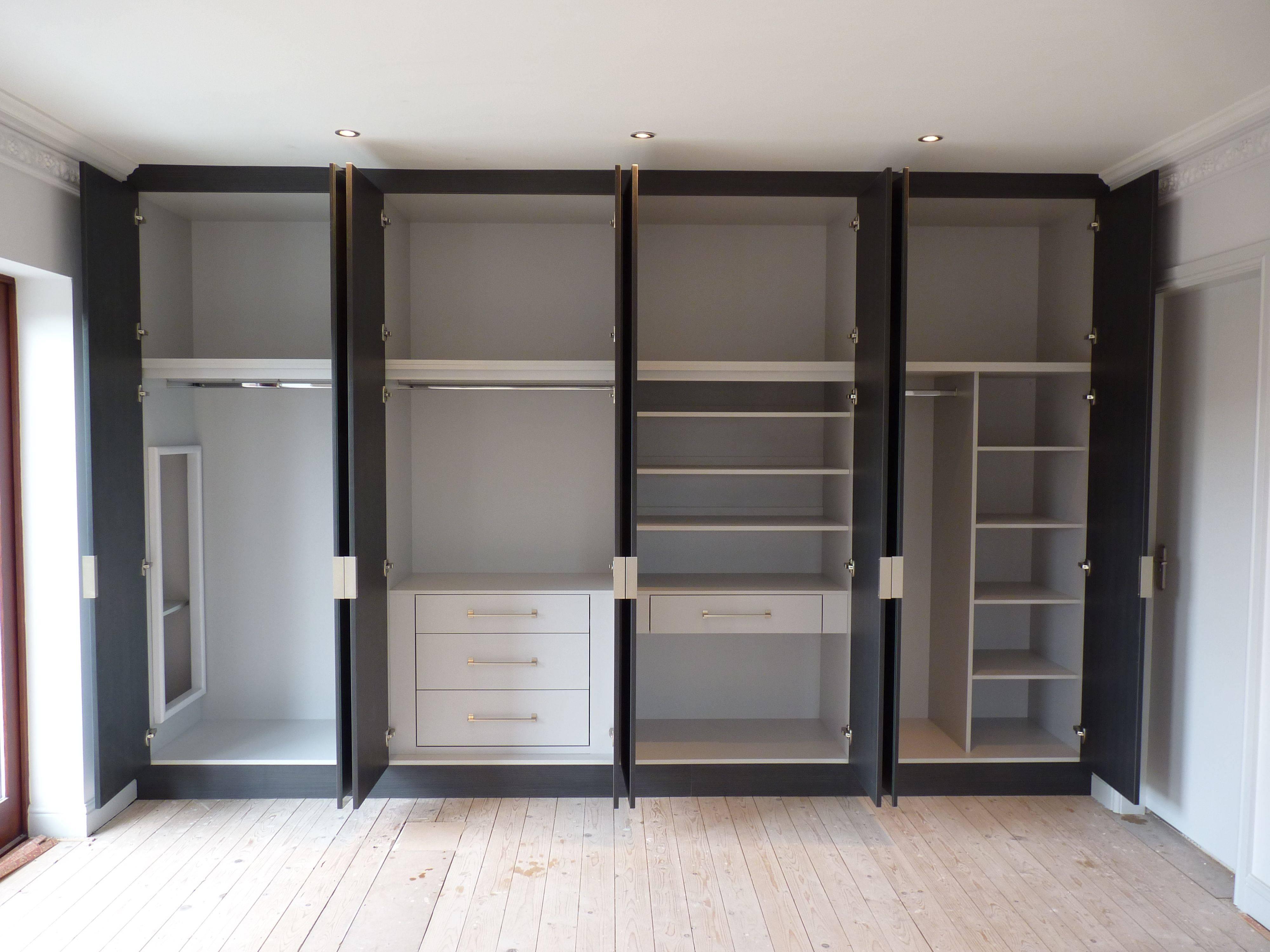 Built-In Wardrobe « Shavings intended for Curved Wardrobe Doors (Image 8 of 30)