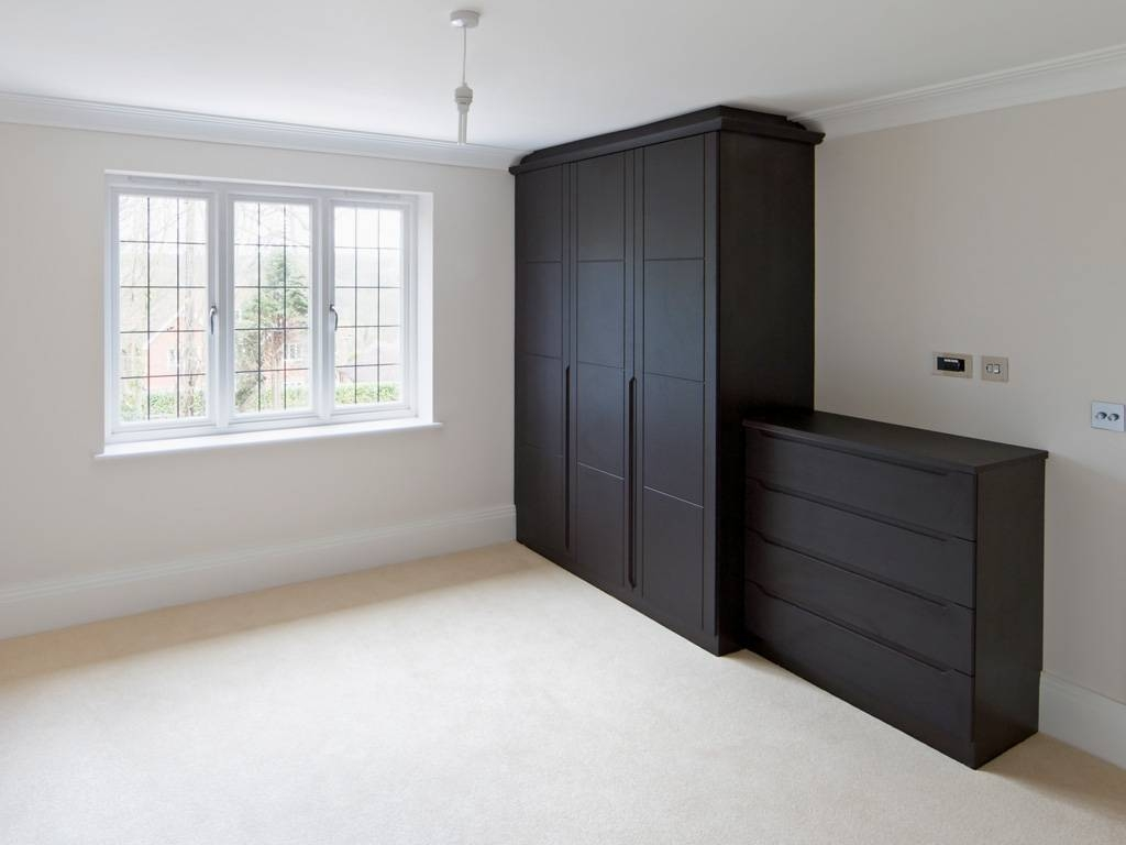 Built In Wardrobes | Custom Fitted Wardrobes In Dublin regarding Dark Wood Wardrobes (Image 7 of 30)
