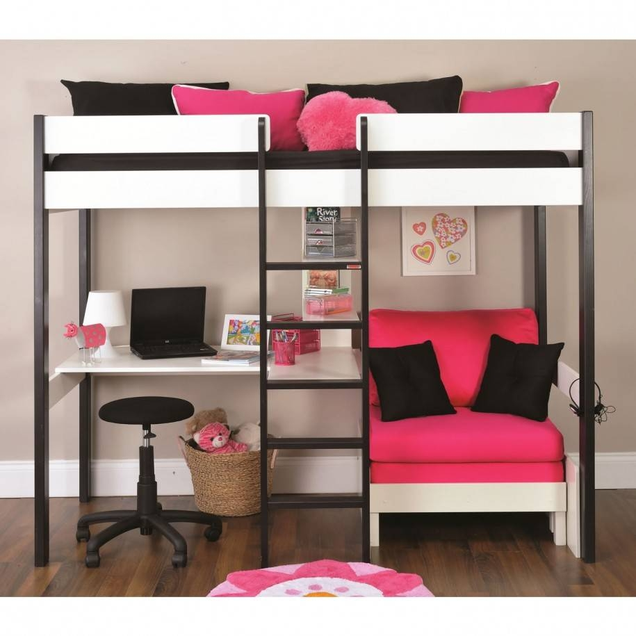 Bunk Beds With Desk And Sofa Bed Design — Room Decors And Design for Sofa Bunk Beds (Image 4 of 30)