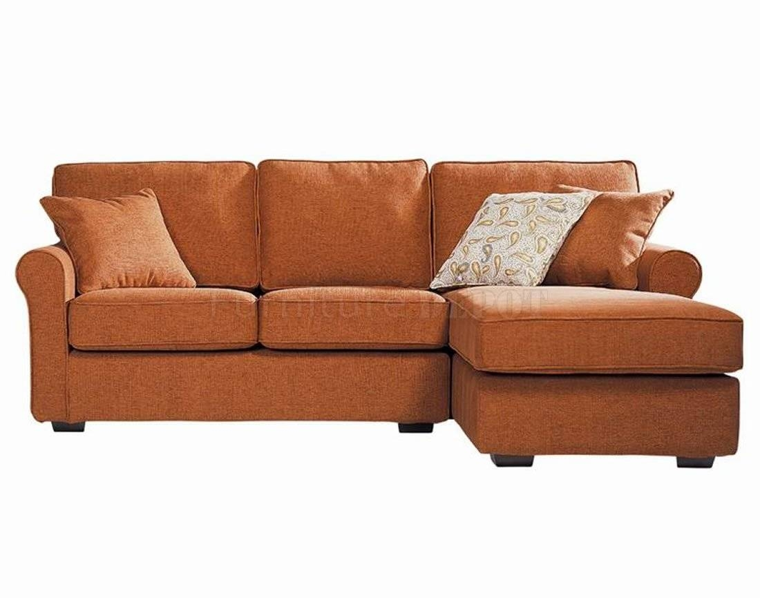 Burnt Orange Sectional Sofa With Inspiration Photo 26739 | Kengire For Orange Sectional Sofa (View 6 of 30)