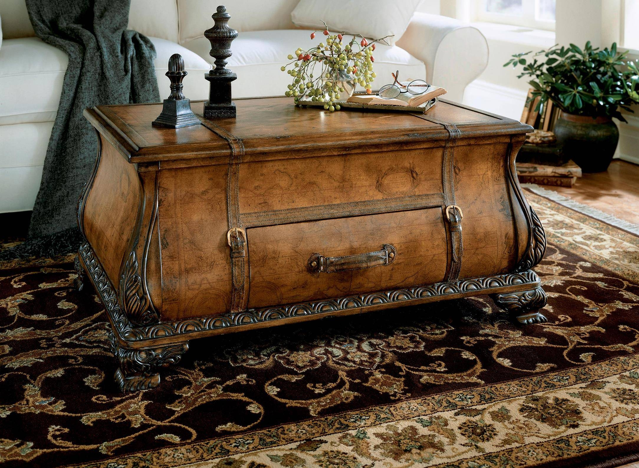 Butler Heritage Bombe Trunk Table - Beyond Stores | Coffee Tables for Heritage Coffee Tables (Image 7 of 30)