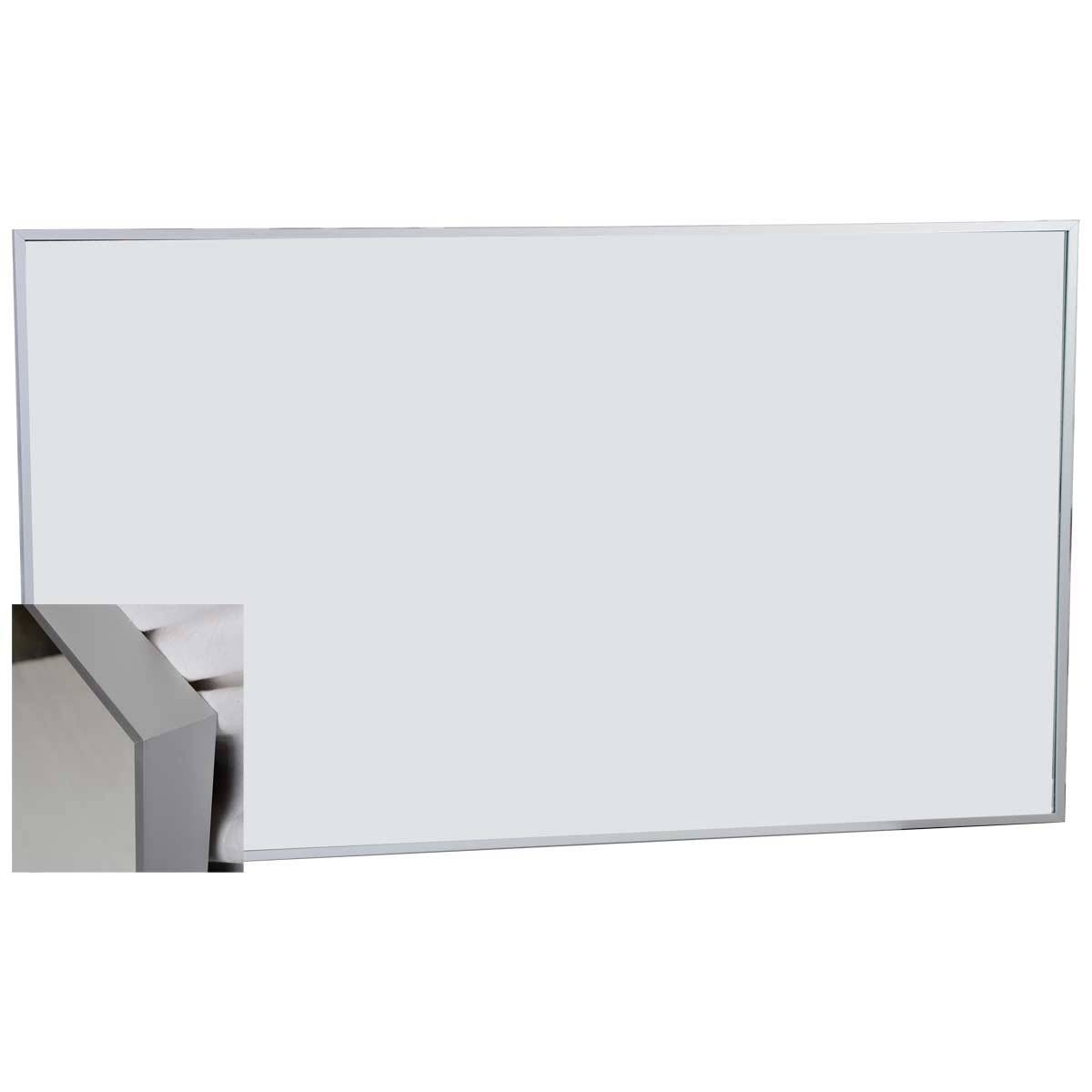 Buy 54 In. W X 31.5 In. H Metal Framed Wall Mirror Tn-B1380-M-Al for White Metal Mirrors (Image 9 of 25)