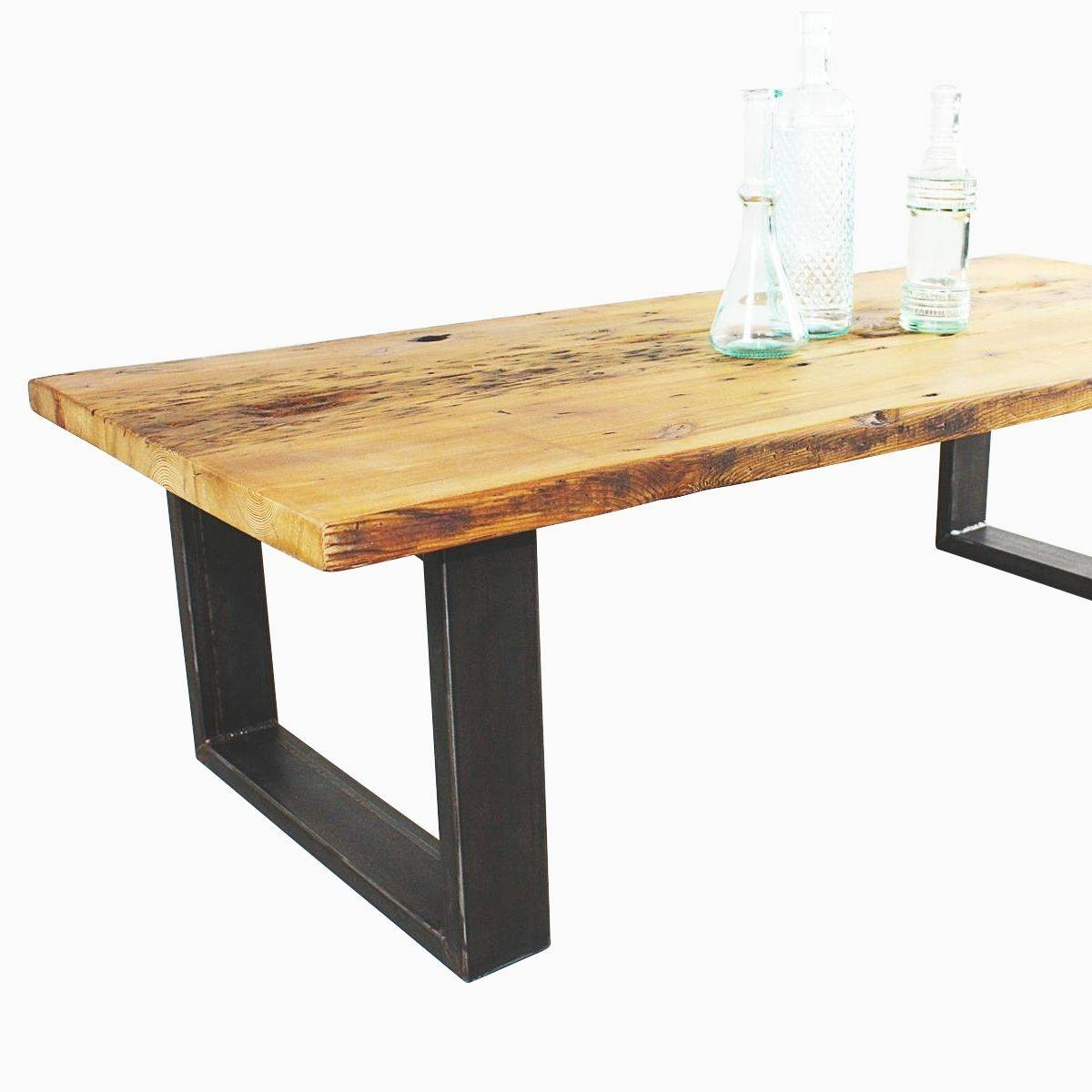 Buy A Hand Made Reclaimed Pine Coffee Table, Made To Order From within Old Pine Coffee Tables (Image 5 of 30)