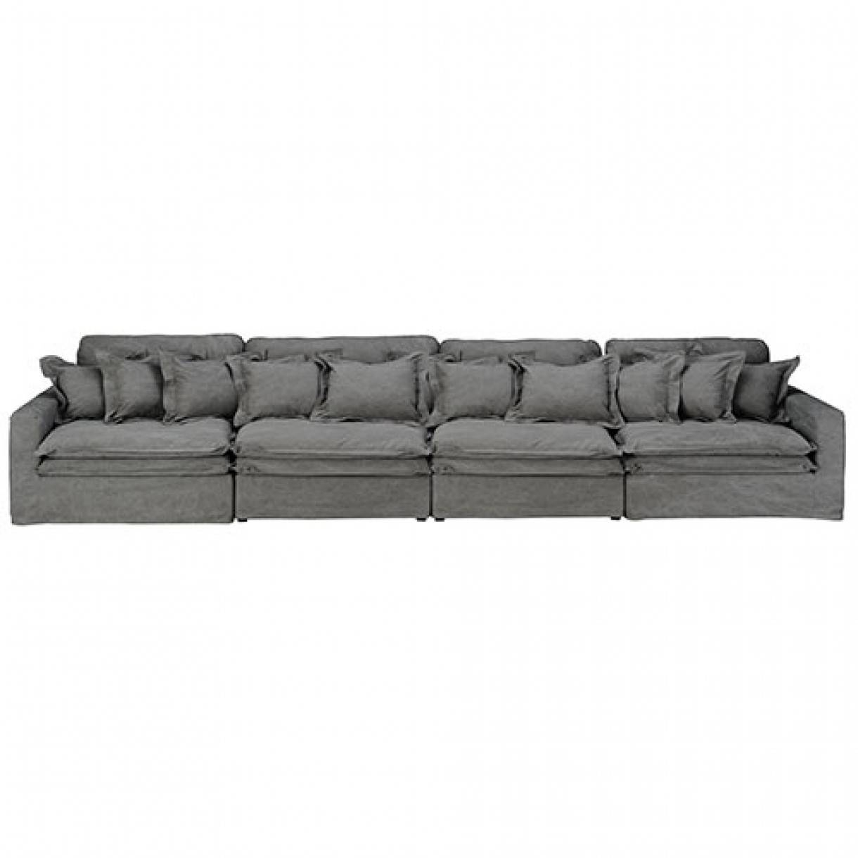 Buy Fabric Lounges Online | Upholstery | Early Settler Furniture pertaining to Large 4 Seater Sofas (Image 3 of 30)