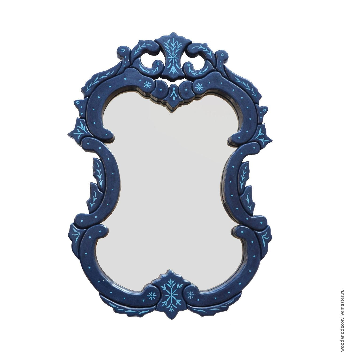 Buy Frame Mirror Blue - Blue, Frame, Mirror, Mirror Wall pertaining to Mirrors With Blue Frame (Image 10 of 25)