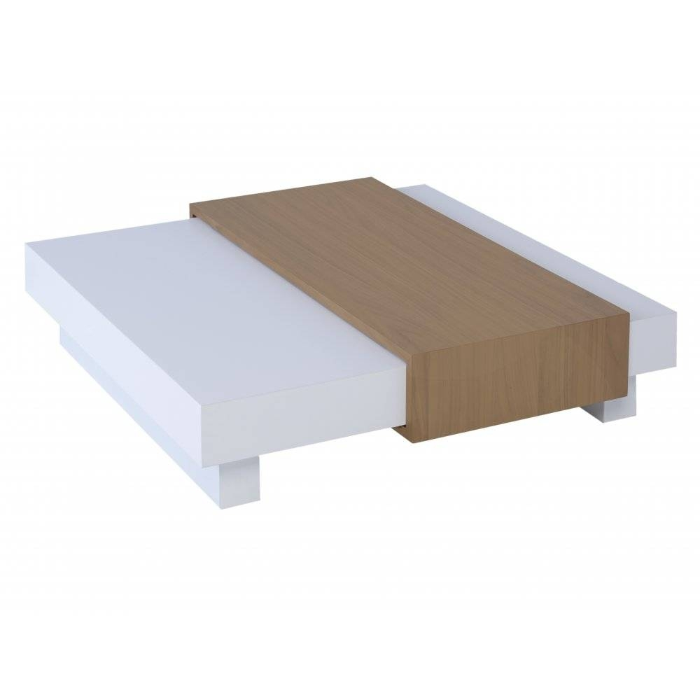 Buy Gillmore Space White And Oak Coffee Table From Fusion Living For White And Oak Coffee Tables (View 7 of 30)