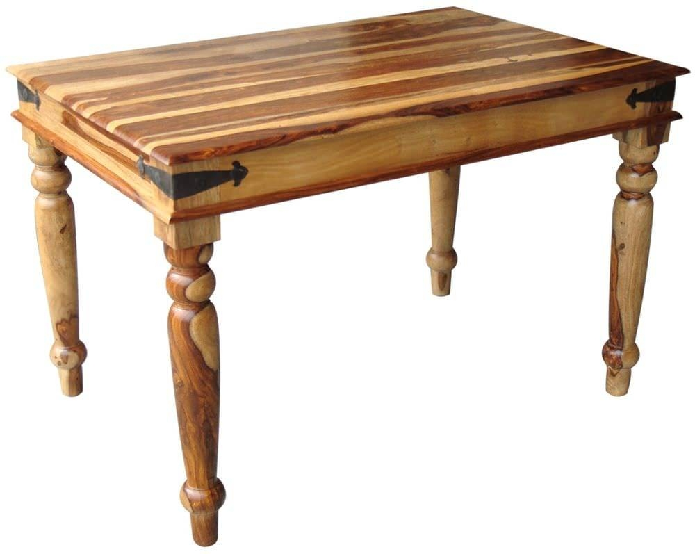 Buy Jaipur Furniture Jali Dining Table - 120Cm Online - Cfs Uk inside Jaipur Sheesham Coffee Tables (Image 2 of 30)