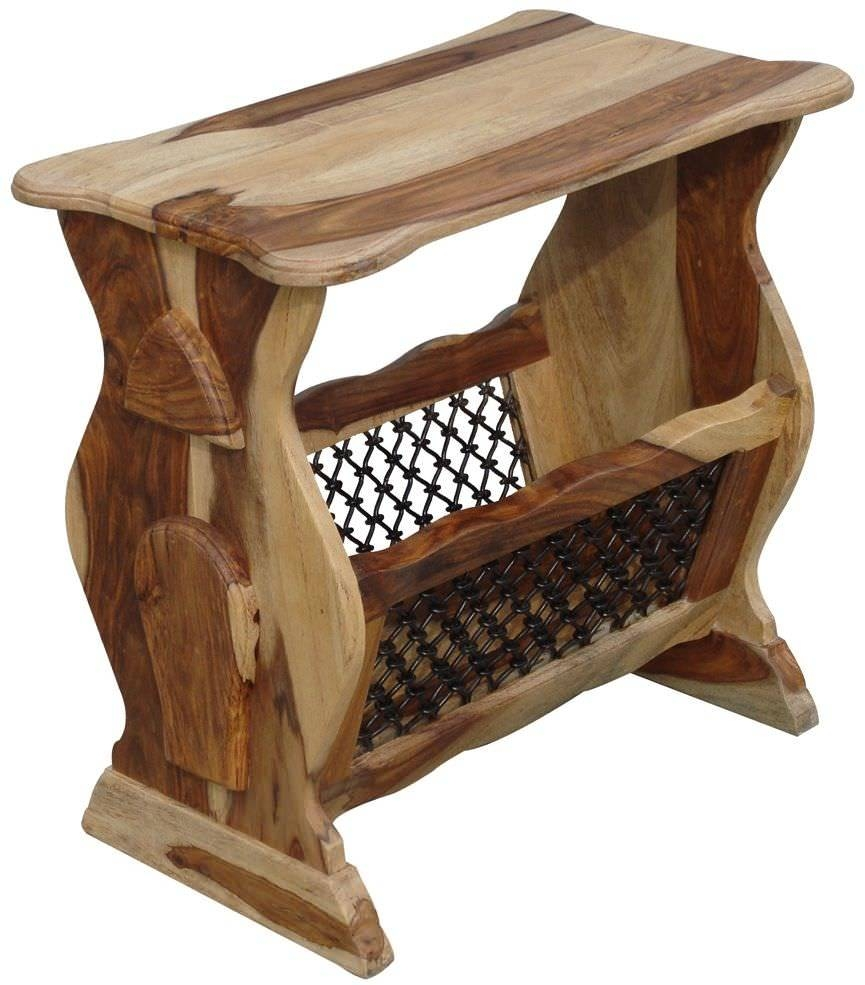 Buy Jaipur Furniture Jali Magazine Rack Online - Cfs Uk regarding Jaipur Sheesham Coffee Tables (Image 3 of 30)