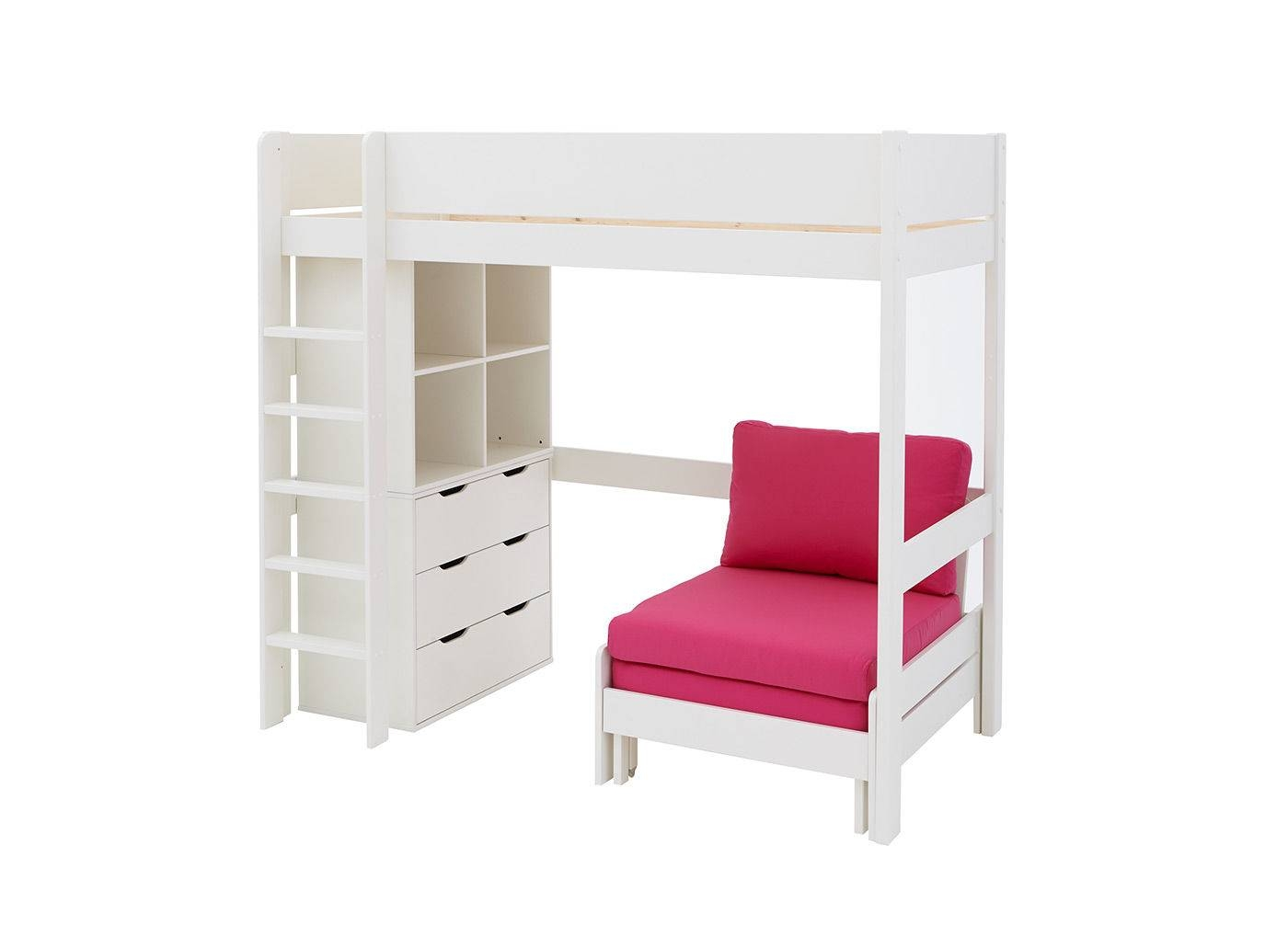 Buy Kids' High Sleepers At Dreams | Quality & Fun High Sleeper inside High Sleeper With Wardrobes and Futon (Image 1 of 15)