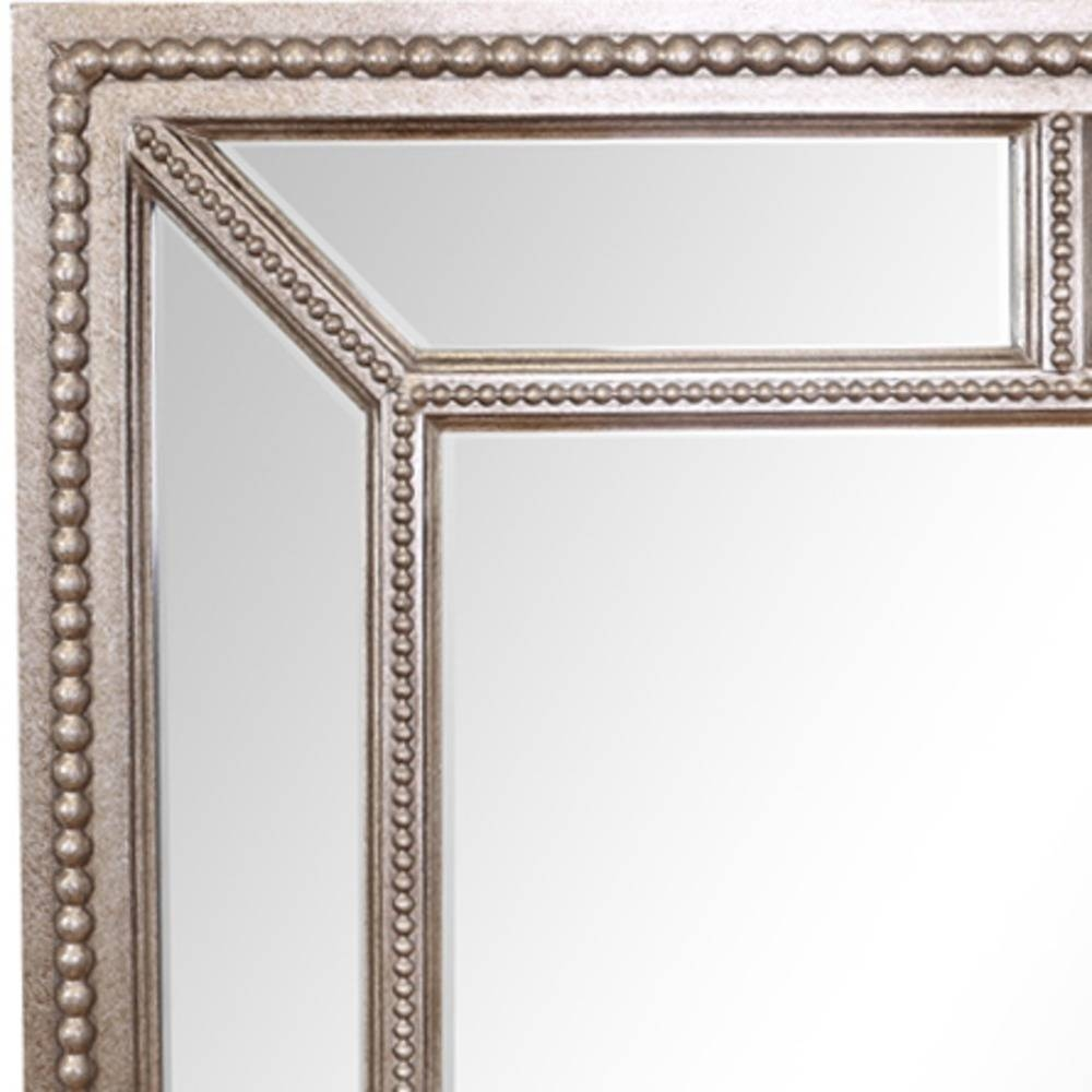 Buy Lawson Pewter Finish Large Mirror | Select Mirrors with regard to Large Pewter Mirrors (Image 5 of 25)