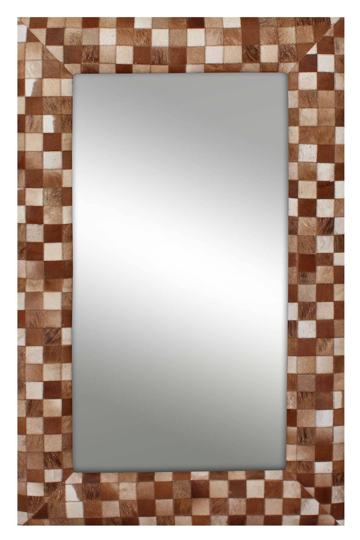 Buy Mirror Frame Online In India At Best Prices inside Leather Mirrors (Image 10 of 25)