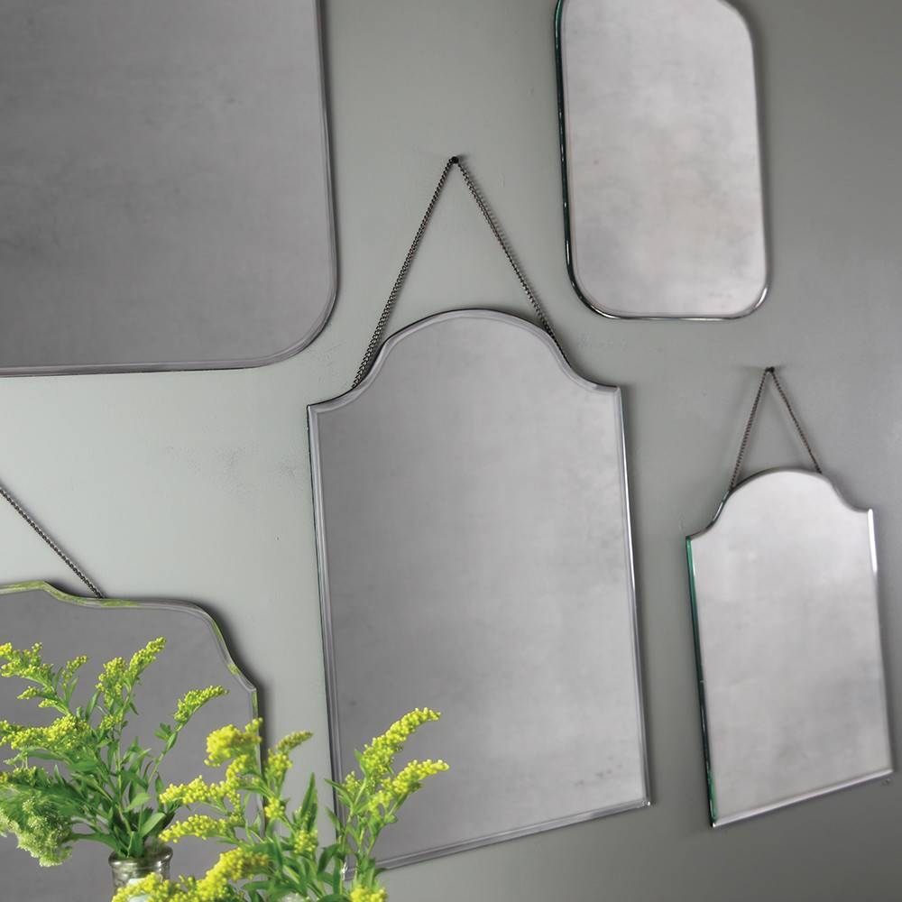 Buy Nkuku Vintage Wall Mirror | Amara intended for Vintage Wall Mirrors (Image 14 of 25)